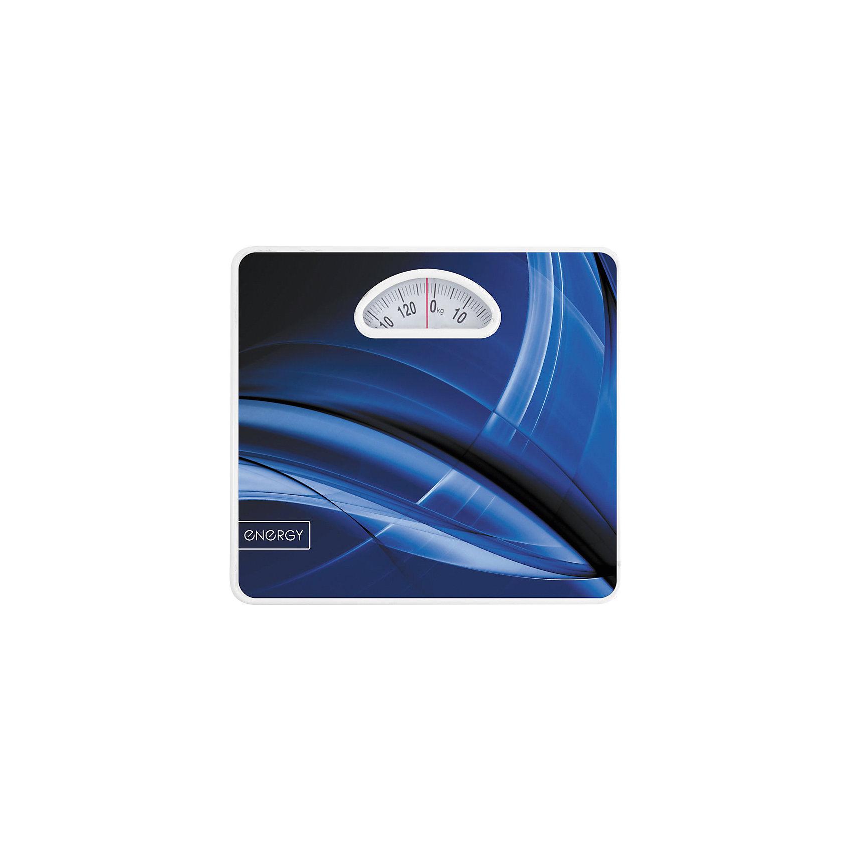 Весы напольные механические ENМ-408B, EnergyСледить за своим весом – это легко. Напольные весы Energy позволяют контролировать систематическое изменение веса. Надежный механизм весов гарантирует длительную службу изделия. Цифры на дисплее крупные, яркая стрелочка красного цвета точно указывает на цифру-показатель веса. <br><br>Дополнительная информация:<br><br>Размер: 27х27,5 см<br><br>Максимальная нагрузка: 120 кг<br>Цена деления: 1 кг <br><br>Весы напольные механические ENМ-408B, Energy можно купить в нашем интернет-магазине.<br><br>Ширина мм: 280<br>Глубина мм: 280<br>Высота мм: 40<br>Вес г: 1175<br>Возраст от месяцев: 36<br>Возраст до месяцев: 1080<br>Пол: Унисекс<br>Возраст: Детский<br>SKU: 4989873