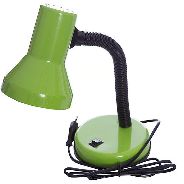 Лампа электрическая настольная EN-DL04 -2, Energy, зеленыйДетские предметы интерьера<br>Электрическая лампа на подставке с кнопкой включения и выключения. Высота лампы регулируется, изменяется угол наклона абажура. Лампа предназначена для лампочек со стандартным цоколем Е27. <br><br>Дополнительная информация:<br><br>Размер: 20х15,9х14,1 см<br> <br>Мощность: 40 Вт<br>Длина шнура: 1,2 м<br>Высота лампы: 335 мм<br>Диаметр абажура: 107 мм<br><br>Обратите внимание: лампочки в комплект поставки не входят!<br><br>Лампу электрическую настольную EN-DL04 -2, Energy, зеленую можно купить в нашем интернет-магазине.<br>Ширина мм: 160; Глубина мм: 140; Высота мм: 200; Вес г: 763; Возраст от месяцев: 36; Возраст до месяцев: 1080; Пол: Унисекс; Возраст: Детский; SKU: 4989897;