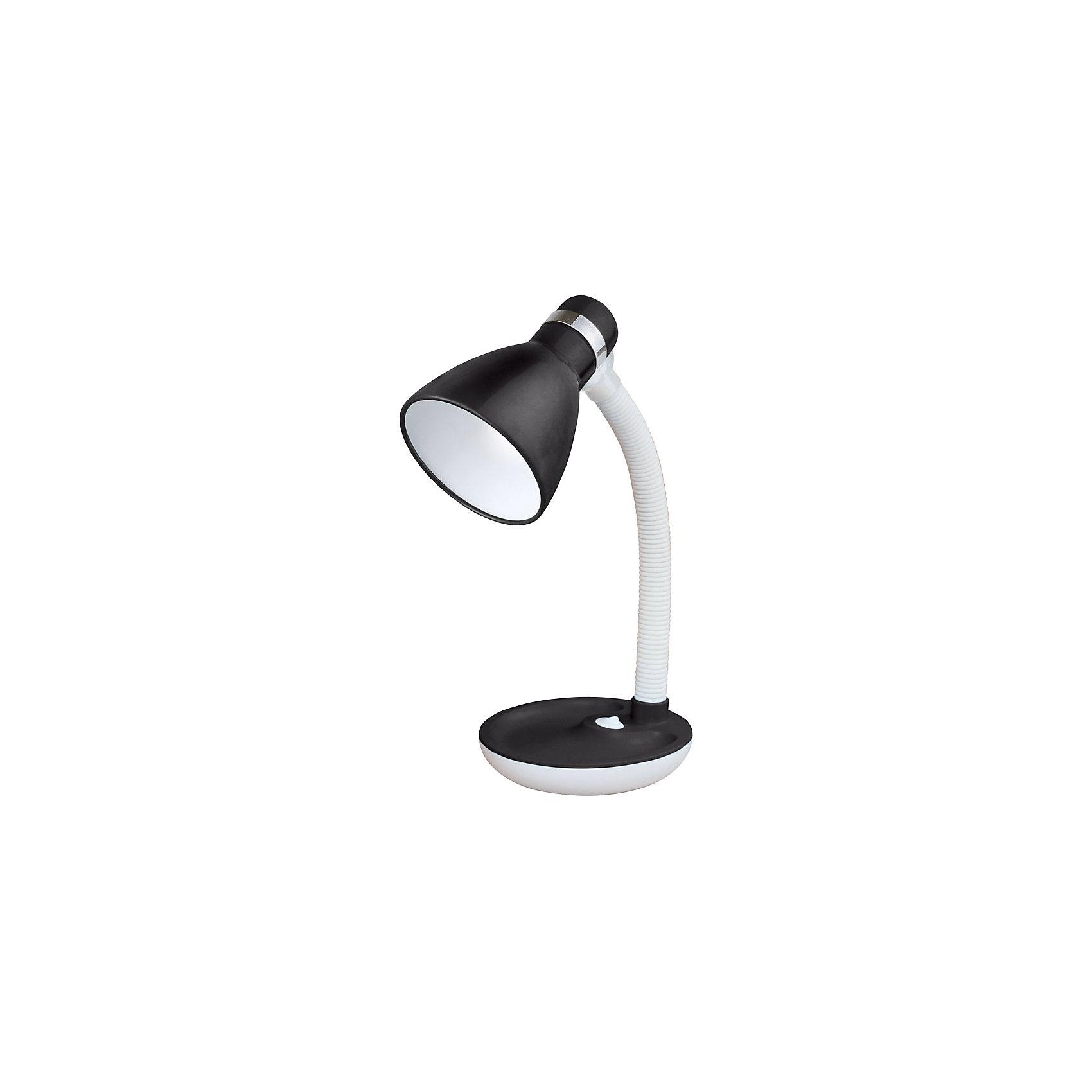 Лампа электрическая настольная EN-DL16, Energy, черно-белыйЭлектрическая лампа на подставке с кнопкой включения и выключения. Высота лампы регулируется, изменяется угол наклона абажура. <br>Лампа предназначена для лампочек со стандартным цоколем Е27. <br><br>Дополнительная информация:<br><br>Размеры лампы: 19х16х15 см<br> <br>Мощность: 40 Вт<br>Длина шнура: 1,2 м<br>Высота лампы: 360 мм<br>Диаметр абажура: 105 мм<br><br>Обратите внимание: лампочки в комплект поставки не входят!<br><br>Лампу электрическую настольную EN-DL16, Energy, черно-белую можно купить в нашем интернет-магазине.<br><br>Ширина мм: 160<br>Глубина мм: 150<br>Высота мм: 190<br>Вес г: 905<br>Возраст от месяцев: 36<br>Возраст до месяцев: 1080<br>Пол: Унисекс<br>Возраст: Детский<br>SKU: 4989904