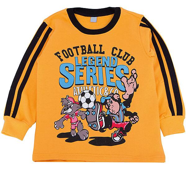 Толстовка для мальчика DAUBERТолстовки<br>Толстовка для мальчика DAUBER<br>Характеристики:<br><br>• Состав: 100%хлопок.<br>• Цвет: желтый.<br>• Материал: трикотаж.<br><br>Толстовка для мальчика от российского бренда DAUBER.<br>Стильная спортивная толстовка желтого цвета выполнена из хлопкового трикотажа. Яркий, забавный принт не оставит равнодушным вашего мальчика. Данная модель предназначена для повседневной носки. Натуральный хлопок в составе изделия делает его дышащим, приятным на ощупь и гипоаллергенным. Мягкая обтачка на горловине не вызовет трудностей при надевании. В такой толстовке ваш мальчик будет чувствовать себя комфортно и уютно, как дома, так и на улице.<br><br>Толстовка для мальчика DAUBER, можно купить в нашем интернет - магазине.<br><br>Ширина мм: 230<br>Глубина мм: 40<br>Высота мм: 220<br>Вес г: 250<br>Цвет: желтый<br>Возраст от месяцев: 24<br>Возраст до месяцев: 36<br>Пол: Мужской<br>Возраст: Детский<br>Размер: 98,116,110,104<br>SKU: 4990400