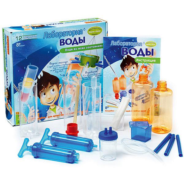 Купить Французские опыты Лаборатория воды (12 экспериментов), Bondibon, Китай, Унисекс