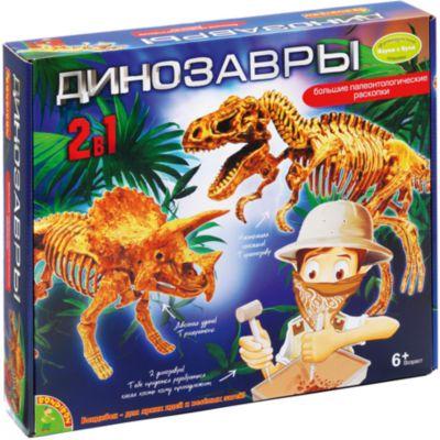 Bondibon Французские опыты Динозавры 2 в 1