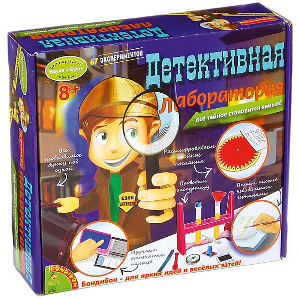 Французские опыты Детективная лаборатория (67 экспериментов)Фокусы и розыгрыши<br>Наш научно-познавательный набор научит юного сыщика всему самому важному!<br>В наборе есть все специальные и необходимые инструменты, и рекомендации для проведения экспериментов. <br> В наборе имеется: специальный штатив для пробирок, 4 пластиковые пробирки, пробки, держатель для пробирок, световой микроскоп, предметное стекло, шифровальный диск, картотека лиц (держатель и полоски), дактилоскопическая карточка отпечатков пальцев, порошок для отпечатков пальцев/угольный порошок, штемпельная подушка, прозрачные наклейки, зеленый фломастер, карта поиска направления, пипетка, компас, фильтровальная бумага, воронка, мерная ложка, песок с морского берега, наждачная бумага, скрепка для бумаг, стальная стружка, зеркала, защитные очки, подробная инструкция.<br><br>Дополнительная информация:<br><br>- Возраст: от 8 лет.<br>- 67 экспериментов.<br>- Материал: пластик.<br>- Размер упаковки: 27x6.5x24 см.<br><br>Купить французские опыты Детективная лаборатория ( 67 экспериментов), можно в нашем магазине.<br>Ширина мм: 27; Глубина мм: 7; Высота мм: 24; Вес г: 723; Возраст от месяцев: 96; Возраст до месяцев: 144; Пол: Унисекс; Возраст: Детский; SKU: 4993037;