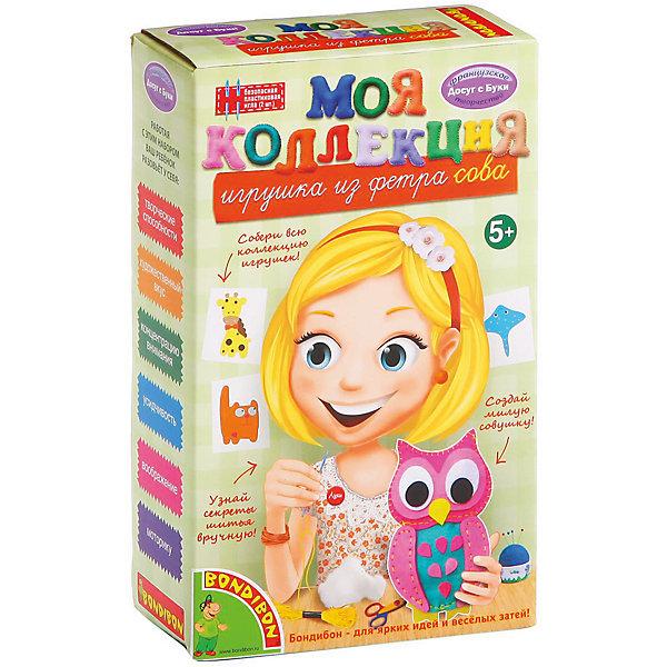 Шьем из фетра СоваШитьё<br>Шьем из фетра Сова – легко даже для новичков.<br>Набор содержит приятные на ощупь выкройки для игрушки. Ткань изготовлена из качественного материала, не вызывающего аллергию. Подробная инструкция поможет ребенку сшить игрушку красиво и правильно, даже если он делает это впервые. <br><br>Дополнительная информация:<br><br>- возраст: от 5 лет<br>- материал: фетр, наполнитель, нитки, иголка, инструкция<br>- игрушка: сова<br><br>Шьем из фетра Сова можно купить в нашем интернет магазине.<br><br>Ширина мм: 13<br>Глубина мм: 6<br>Высота мм: 21<br>Вес г: 144<br>Возраст от месяцев: 60<br>Возраст до месяцев: 144<br>Пол: Женский<br>Возраст: Детский<br>SKU: 4993105