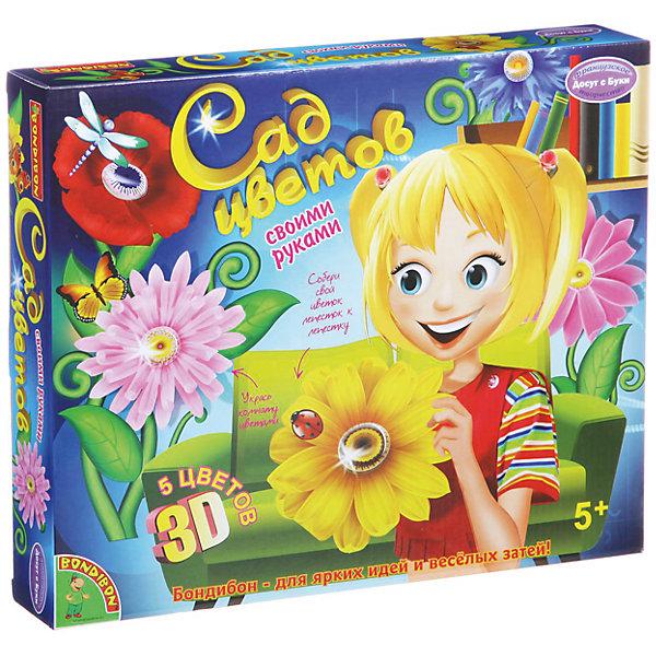 Набор для творчества Сад Цветов 3DПоследняя цена<br>Набор для творчества Сад Цветов 3D – этот увлекательный набор разнообразит времяпровождение вашего ребенка.<br>С набором для творчества Сад Цветов 3D ваш ребенок превратит стены своей комнаты в красивый сад, используя пластиковые заготовки и лепестки пяти разных цветов из набора. В наборе заготовки для пяти цветов: хризантемы, подсолнуха, герберы, василька и мака. Аккуратно подбирая лепесток к лепестку, ребенок соберет прекрасные цветы, диаметр которых составляет почти 30 см. Готовые цветы можно задекорировать наклейками из набора. Процесс создания необычного сада прост, а результат великолепен! Набор поможет развить воображение ребёнка, художественный вкус и эстетическое восприятие.<br><br>Дополнительная информация:<br><br>- В наборе: 5 пластиковых заготовок для сердцевин цветков – каждая заготовка состоит из 3-х частей;10 шаблонов для лепестков и сердцевин (лепестки и сердцевины предварительно надрезаны, достаточно только аккуратно их извлечь); 2 листа с наклейками для декорирования; 5 шт. двойного скотча; книжка-инструкция<br>- Упаковка: картонная коробка<br>- Размер упаковки: 33,5х5х27,5 см.<br><br>Набор для творчества Сад Цветов 3D можно купить в нашем интернет-магазине.<br>Ширина мм: 33; Глубина мм: 5; Высота мм: 28; Вес г: 567; Возраст от месяцев: 60; Возраст до месяцев: 144; Пол: Унисекс; Возраст: Детский; SKU: 4993151;