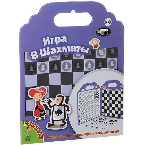 Игра с нано-стикерами ШахматыКнижки с наклейками<br>Дети обожают наклейки и веселые картинки! С этим замечательным набором ребенок без труда научится играть в шахматы. Нужно лишь наклеить на игровое поле яркие стикеры. Оригинальные нано - стикеры выполнены из резины TPE, без клеевой или магнитной основы, поэтому могут использоваться много раз и отлично приклеиваются к любой гладкой поверхности. Набор занимает мало места, его удобно брать с собой в поездки и путешествия. Игра с нано-стикерами Шахматы обязательно порадует любого ребенка! <br><br>Дополнительная информация:<br><br>- Материал: картон, резина TPE.<br>- Размер упаковки: 26x20x1 см. <br>- Размер игрового поля в сложенном виде: 19х24 см.<br>- Комплектация: игровое поле, 24 наклеек. <br>- Многоразовые наклейки без клеевой или магнитной основы. <br><br>Игру с нано-стикерами Шахматы можно купить в нашем магазине.<br><br>Ширина мм: 19<br>Глубина мм: 1<br>Высота мм: 24<br>Вес г: 84<br>Возраст от месяцев: 96<br>Возраст до месяцев: 144<br>Пол: Унисекс<br>Возраст: Детский<br>SKU: 4993192