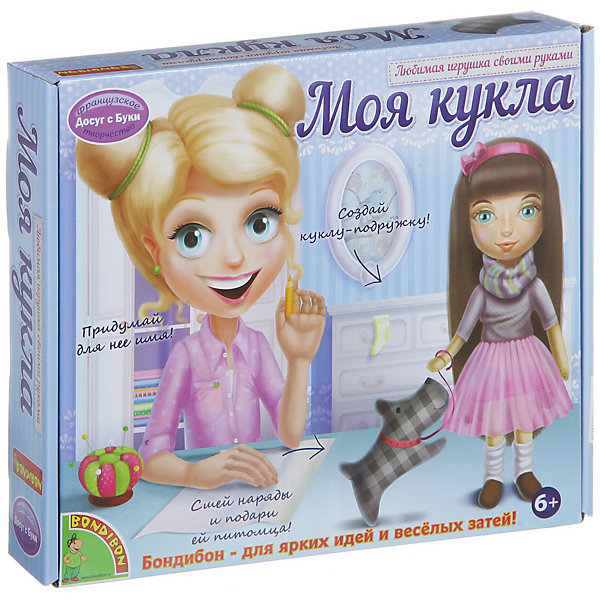 Любимая игрушка своими руками Кукла с темными волосамиШитьё<br>С помощью этого замечательного набора ребенок сможет сделать очаровательную куколку и сшить наряды к ней. Куколка с пышными темными волосами и множеством нарядов не оставит равнодушной ни одну девочку!  Шитьё - увлекательно и полезное занятие, которое поможет развить моторику рук, мышление, внимание, усидчивость, умение работать по инструкции, и, конечно, подарит множество положительных эмоций! Игрушки, сделанные своими руками, самые любимые и желанные, а навыки шитья, полученные в процессе изготовления куколки, пригодятся в будущем любой хорошей хозяйке.  <br><br>Дополнительная информация:<br><br>- Материал: текстиль. <br>- Размер: 27х6х27 см.<br>- Комплектация: выкройки куклы, одежды и аксессуаров, инструкция.<br><br>Набор Любимая игрушка своими руками. Кукла с темными волосами можно купить в нашем магазине.<br><br>Ширина мм: 26<br>Глубина мм: 5<br>Высота мм: 22<br>Вес г: 321<br>Возраст от месяцев: 72<br>Возраст до месяцев: 144<br>Пол: Женский<br>Возраст: Детский<br>SKU: 4993194