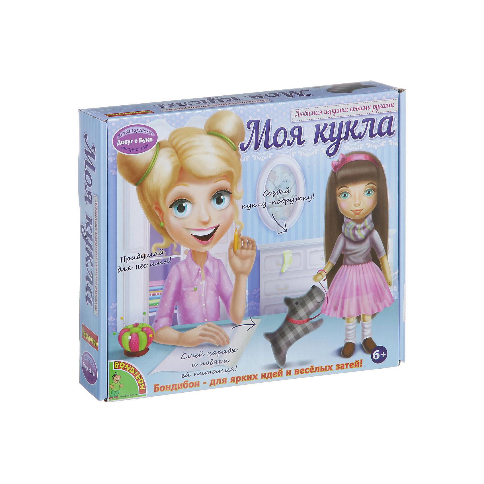 Любимая игрушка своими руками Кукла с темными волосамиС помощью этого замечательного набора ребенок сможет сделать очаровательную куколку и сшить наряды к ней. Куколка с пышными темными волосами и множеством нарядов не оставит равнодушной ни одну девочку!  Шитьё - увлекательно и полезное занятие, которое поможет развить моторику рук, мышление, внимание, усидчивость, умение работать по инструкции, и, конечно, подарит множество положительных эмоций! Игрушки, сделанные своими руками, самые любимые и желанные, а навыки шитья, полученные в процессе изготовления куколки, пригодятся в будущем любой хорошей хозяйке.  <br><br>Дополнительная информация:<br><br>- Материал: текстиль. <br>- Размер: 27х6х27 см.<br>- Комплектация: выкройки куклы, одежды и аксессуаров, инструкция.<br><br>Набор Любимая игрушка своими руками. Кукла с темными волосами можно купить в нашем магазине.<br><br>Ширина мм: 26<br>Глубина мм: 5<br>Высота мм: 22<br>Вес г: 321<br>Возраст от месяцев: 72<br>Возраст до месяцев: 144<br>Пол: Женский<br>Возраст: Детский<br>SKU: 4993194