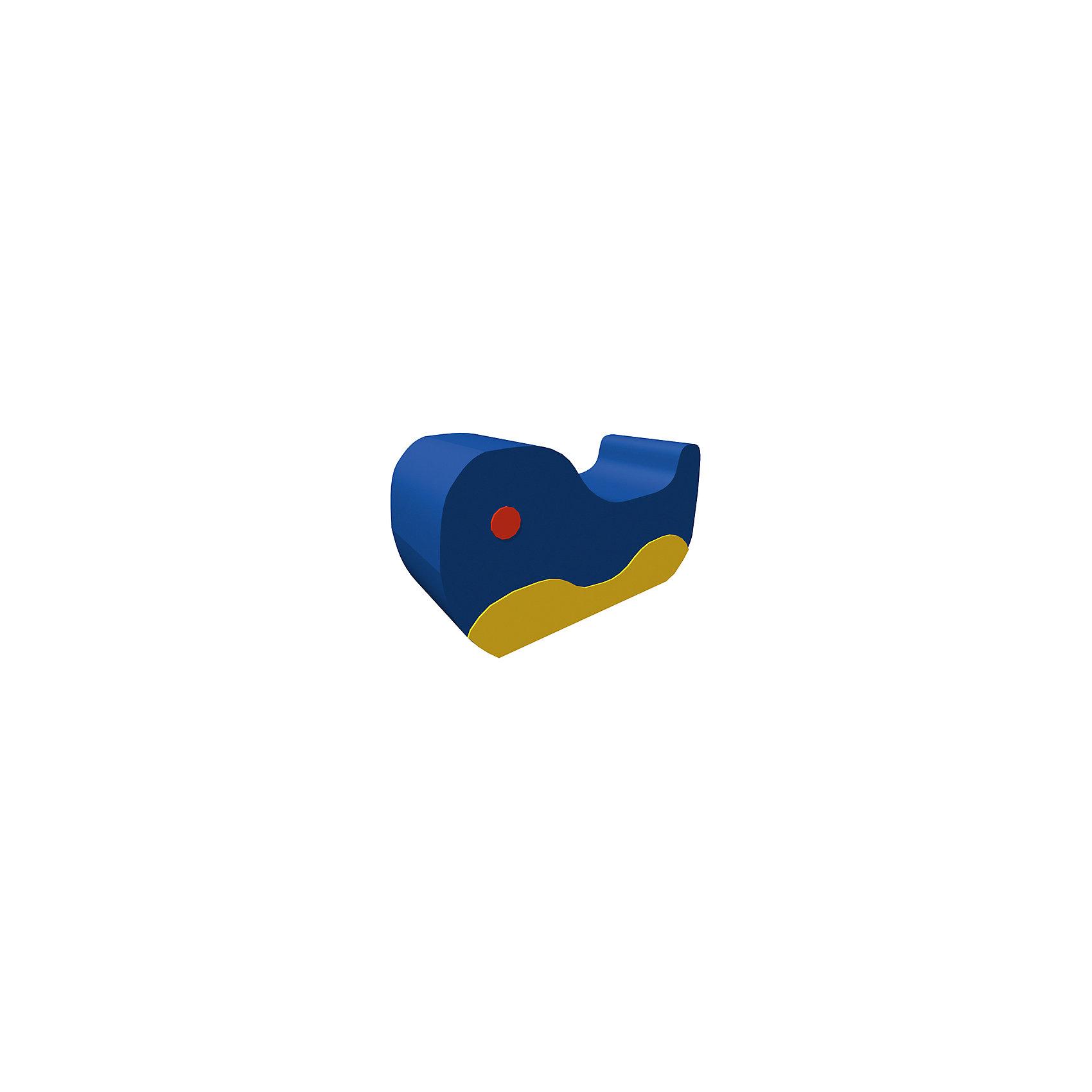 Игровая мебель Кит, ROMANAМебель<br>Мягкий комплекс – контурная Изделие в детскую комнату, который укрепляет мышцы спины и развивает равновесие. Форма «кит» понравится всем малышам. Полное отсутствие острых углов и твердых поверхностей позволит детям использовать игрушку в своих играх и не получить травм или повреждений. Изделие подходит к другим модулям из серии. Развивает координацию, вестибулярный аппарат и ловкость. Материалы, использованные при изготовлении комплекса, абсолютно безопасны для детей и отвечают всем международным требованиям по качеству. <br><br>Дополнительная информация: <br><br>цвет: разноцветный;<br>размер: 60х30х30 см;<br>материал: поролон, винилискожа.<br><br>Мягкий комплекс «Кит»  для детей от компании ROMANA можно приобрести в нашем магазине.<br><br>Ширина мм: 770<br>Глубина мм: 250<br>Высота мм: 430<br>Вес г: 3000<br>Возраст от месяцев: 36<br>Возраст до месяцев: 120<br>Пол: Унисекс<br>Возраст: Детский<br>SKU: 4993343