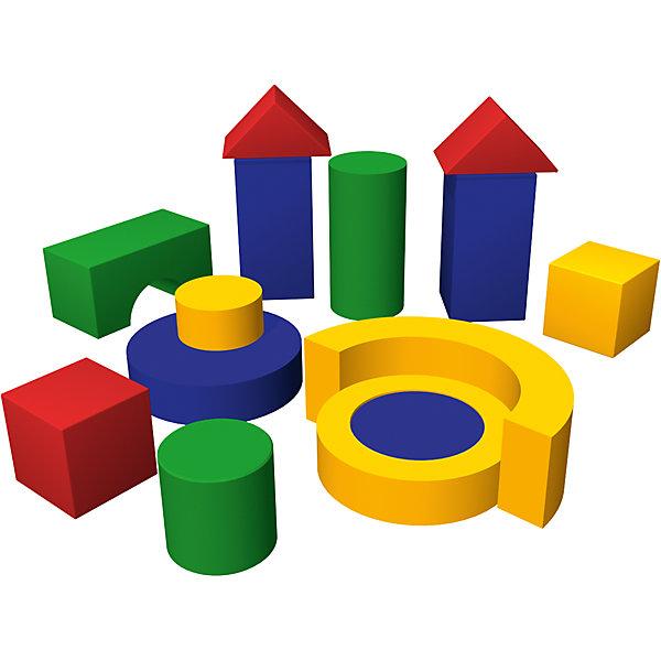 Игровой модуль Избушка, ROMANAИгровые наборы<br>Конструктор – традиционная детская Изделие, которая обеспечивает нормальное детское развитие. С ним ребенок разовьет свою фантазию и выучит геометрические формы. Мягкий конструктор – отличный вариант для того, чтобы разнообразить детскую комнату. Полное отсутствие острых углов и твердых поверхностей позволит детям использовать игрушку в своих играх и не получить травм или повреждений. Развивает координацию, вестибулярный аппарат и ловкость. Материалы, использованные при изготовлении, абсолютно безопасны для детей и отвечают всем международным требованиям по качеству. <br><br>Дополнительная информация: <br><br>вес изделия: 13кг;<br>возраст: 3 +;<br>цвет: разноцветный;<br>размер: 210 х 210 х 85 см;<br>материал: поролон, винилискожа.<br><br>Мягкий конструктор  «Избушка» для детей от компании ROMANA можно приобрести в нашем магазине.<br><br>Ширина мм: 1000<br>Глубина мм: 600<br>Высота мм: 600<br>Вес г: 16000<br>Возраст от месяцев: 36<br>Возраст до месяцев: 120<br>Пол: Унисекс<br>Возраст: Детский<br>SKU: 4993349