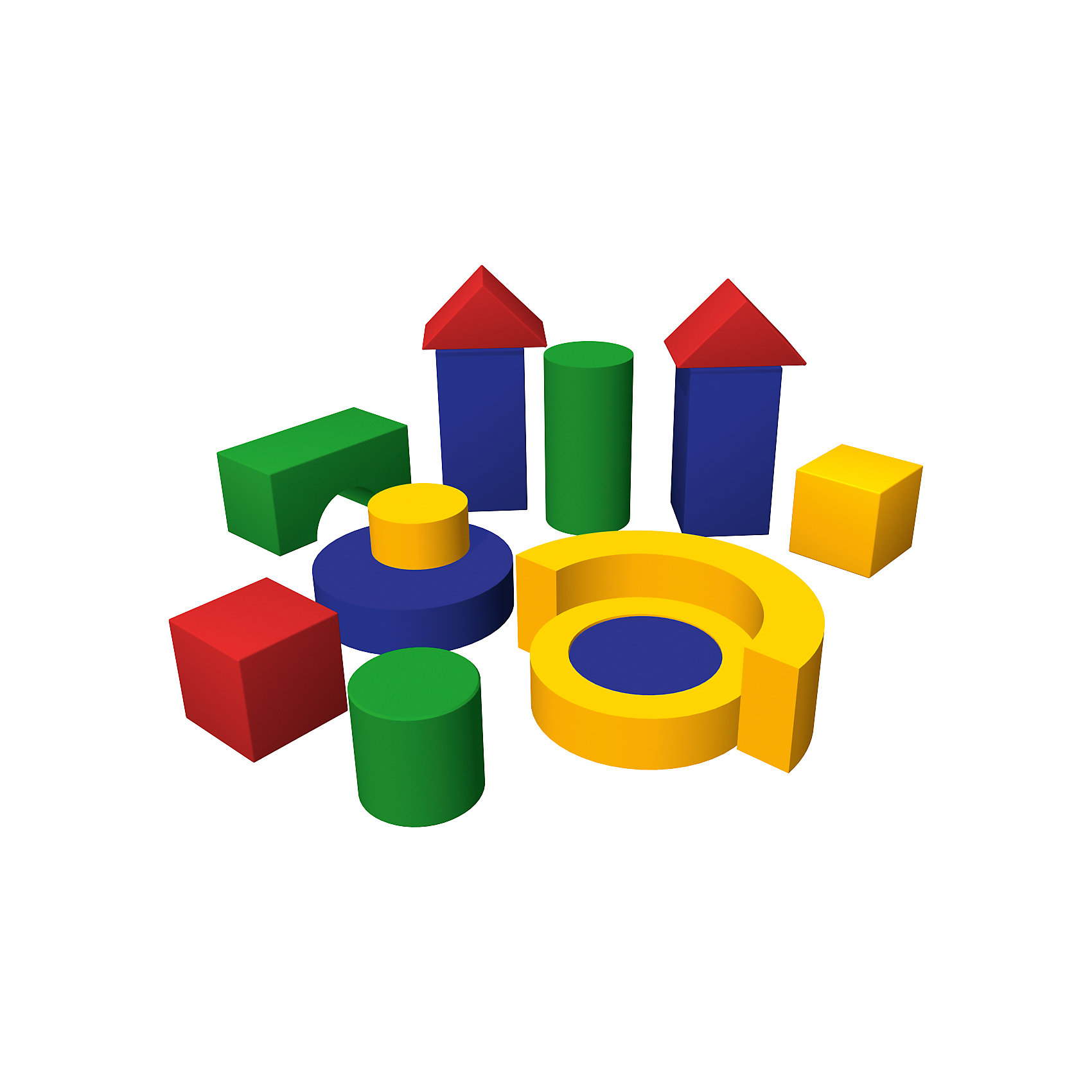 ROMANA Игровой модуль Избушка, ROMANA мягкие модули romana мягкий конструктор теремок мини