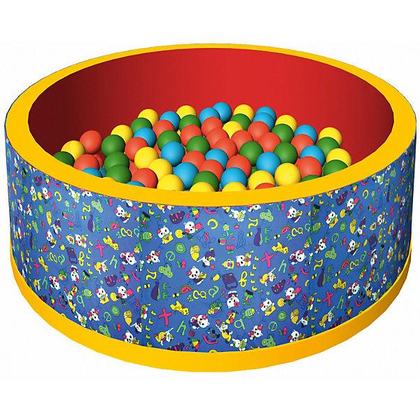 Сухой бассейн Веселая полянка, ROMANA, синийБассейны<br>Бассейн сухой с шариками – мечта всех детей! В бассейне 150 разноцветных шариков. Модель довольно компактного размера, так что будет прекрасно помещаться в детскую комнату. Шарики развивают ловкость и мелкую моторику. Жесткость шариков комфортна для прикосновения и не травмирует малышей. Все детали легко очищаются даже от самых сложных загрязнений. Материалы, использованные при изготовлении изделия, абсолютно безопасны для детей и отвечают всем международным требованиям по качеству. <br><br>Дополнительная информация: <br><br>количество: 150 шт;<br>цвет: синий;<br>размер: 100 х 100 х 33 см;<br>материал: дюспо.<br><br>Бассейн сухой с шариками «Веселая полянка» для детей от компании ROMANA можно приобрести в нашем магазине.<br>Ширина мм: 680; Глубина мм: 500; Высота мм: 350; Вес г: 5000; Возраст от месяцев: 36; Возраст до месяцев: 120; Пол: Унисекс; Возраст: Детский; SKU: 4993350;