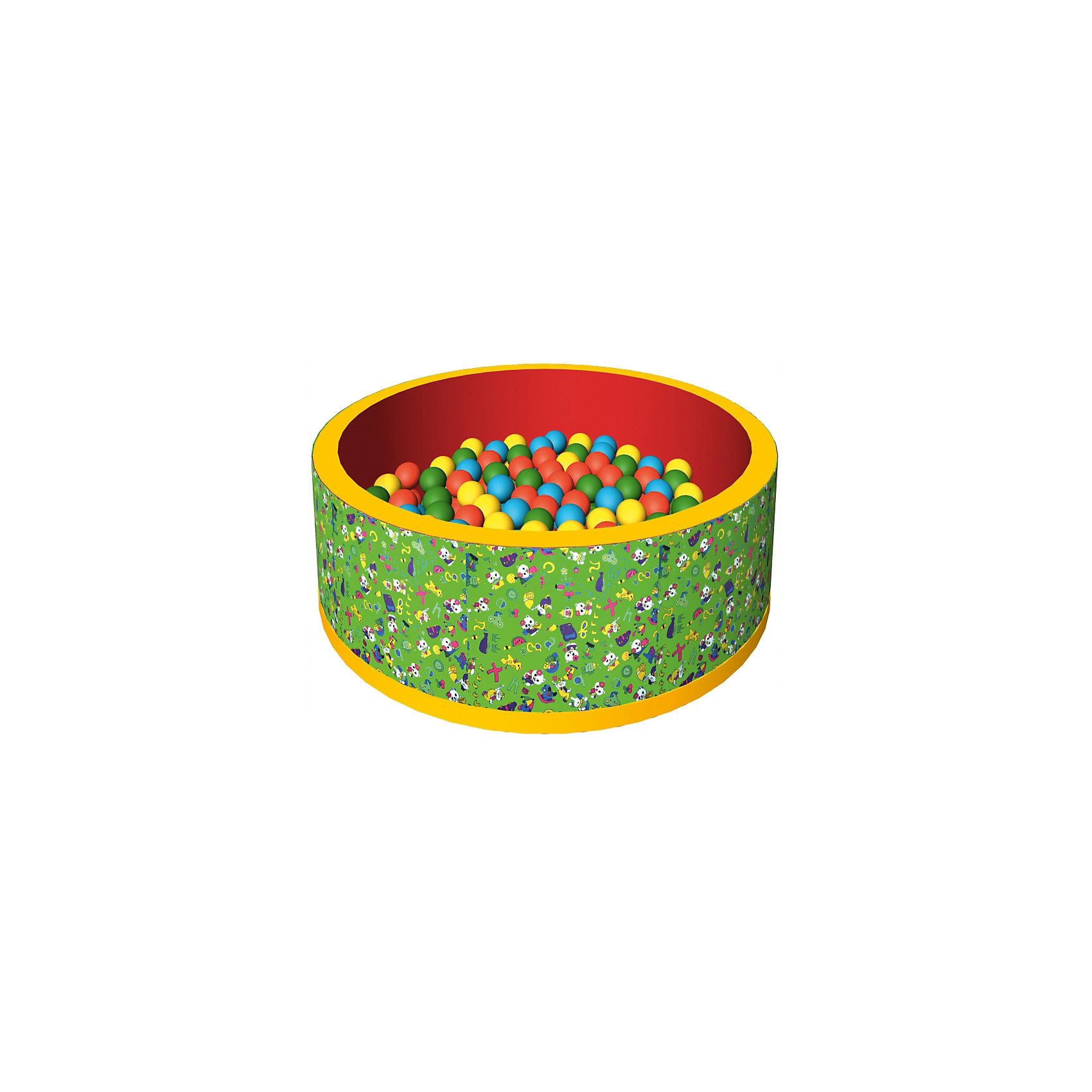 Сухой бассейн Веселая полянка, ROMANA, зеленыйБассейны<br>Бассейн сухой с шариками – мечта всех детей! В бассейне 150 разноцветных шариков. Модель довольно компактного размера, так что будет прекрасно помещаться в детскую комнату. Шарики развивают ловкость и мелкую моторику. Жесткость шариков комфортна для прикосновения и не травмирует малышей. Все детали легко очищаются даже от самых сложных загрязнений. Материалы, использованные при изготовлении изделия, абсолютно безопасны для детей и отвечают всем международным требованиям по качеству. <br><br>Дополнительная информация: <br><br>количество: 150 шт;<br>цвет: зеленый;<br>размер: 100 х 100 х 33 см;<br>материал: дюспо.<br><br>Бассейн сухой с шариками «Веселая полянка» для детей от компании ROMANA можно приобрести в нашем магазине.<br><br>Ширина мм: 680<br>Глубина мм: 500<br>Высота мм: 350<br>Вес г: 5000<br>Возраст от месяцев: 36<br>Возраст до месяцев: 120<br>Пол: Унисекс<br>Возраст: Детский<br>SKU: 4993351