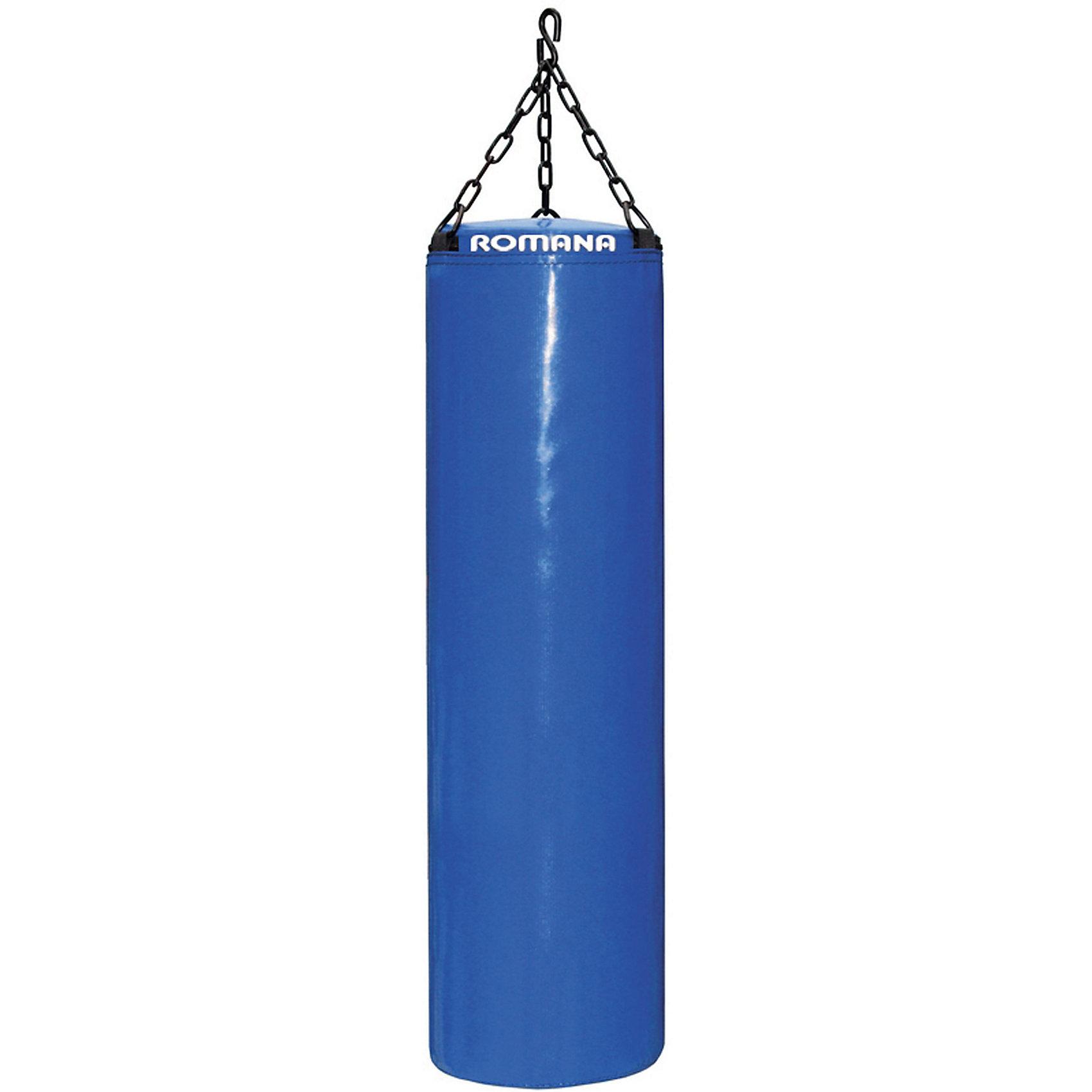 Мешок боксерский, вес 20кг, ROMANAИнвентарь для бокса<br>Малыш мечтает себя почувствовать звездой бокса? Подарите ему настоящий боксерский мешок! Данная модель предназначена как дополнительный элемент к детскому домашнему спортивному комплексу. Игры и спортивные упражнения с тренажером развивают координацию, укрепляют мышцы и тренируют физическую форму. Все детали легко очищаются даже от самых сложных загрязнений. Материалы, использованные при изготовлении изделия, абсолютно безопасны для детей и отвечают всем международным требованиям по качеству. <br><br>Дополнительная информация: <br><br>цвет: в ассортименте;<br>размер: 20 х 20 х 40 см;<br>вес: в ассортименте;<br>вес: 20 кг;<br>материал: поролон, винилискожа.<br><br>Детский боксерский мешок от компании ROMANA можно приобрести в нашем магазине.<br><br>Ширина мм: 600<br>Глубина мм: 300<br>Высота мм: 300<br>Вес г: 20000<br>Возраст от месяцев: 120<br>Возраст до месяцев: 144<br>Пол: Унисекс<br>Возраст: Детский<br>SKU: 4993356