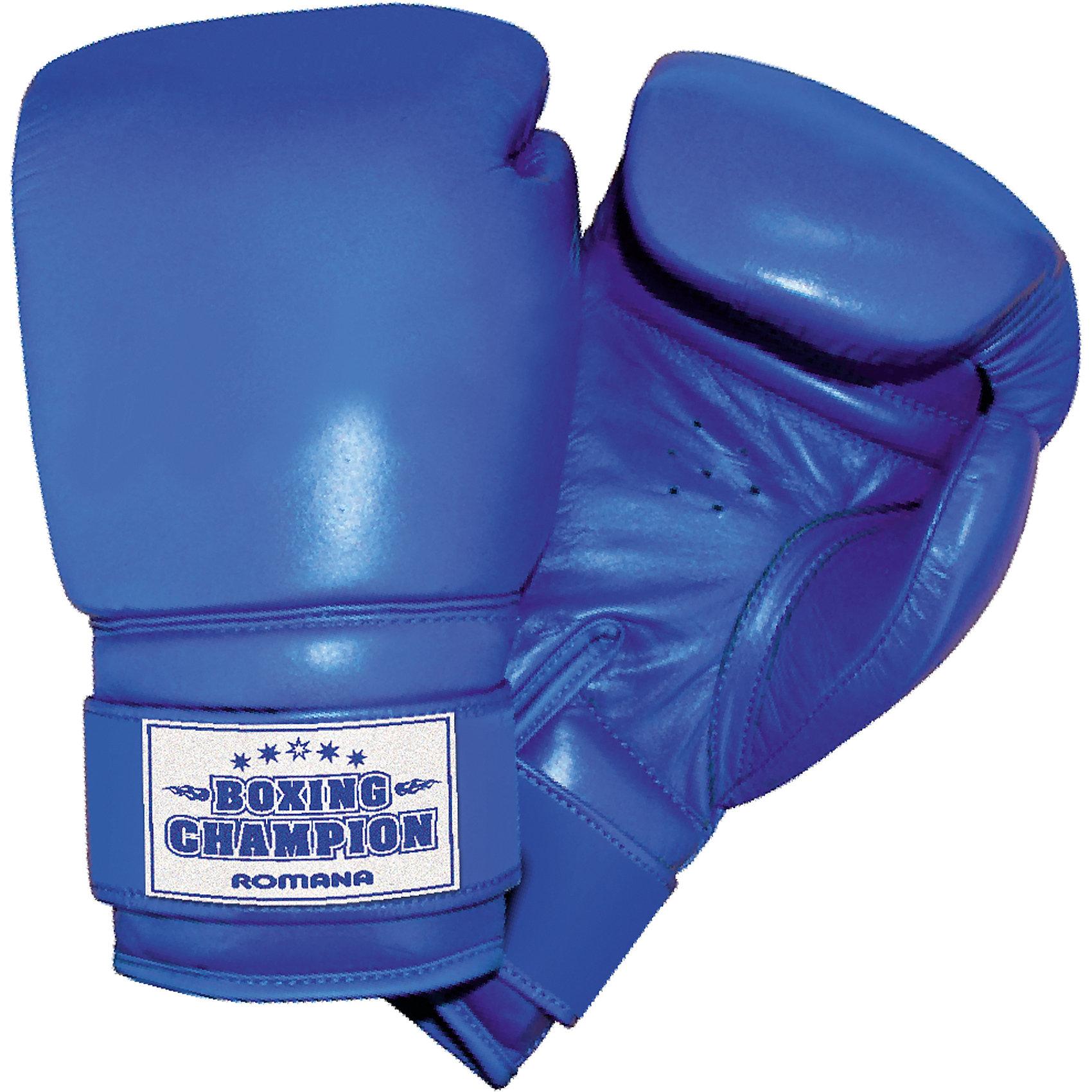 ROMANA Боксерские перчатки для детей 7-10 лет, ROMANA боксерские перчатки в магазинах москвы