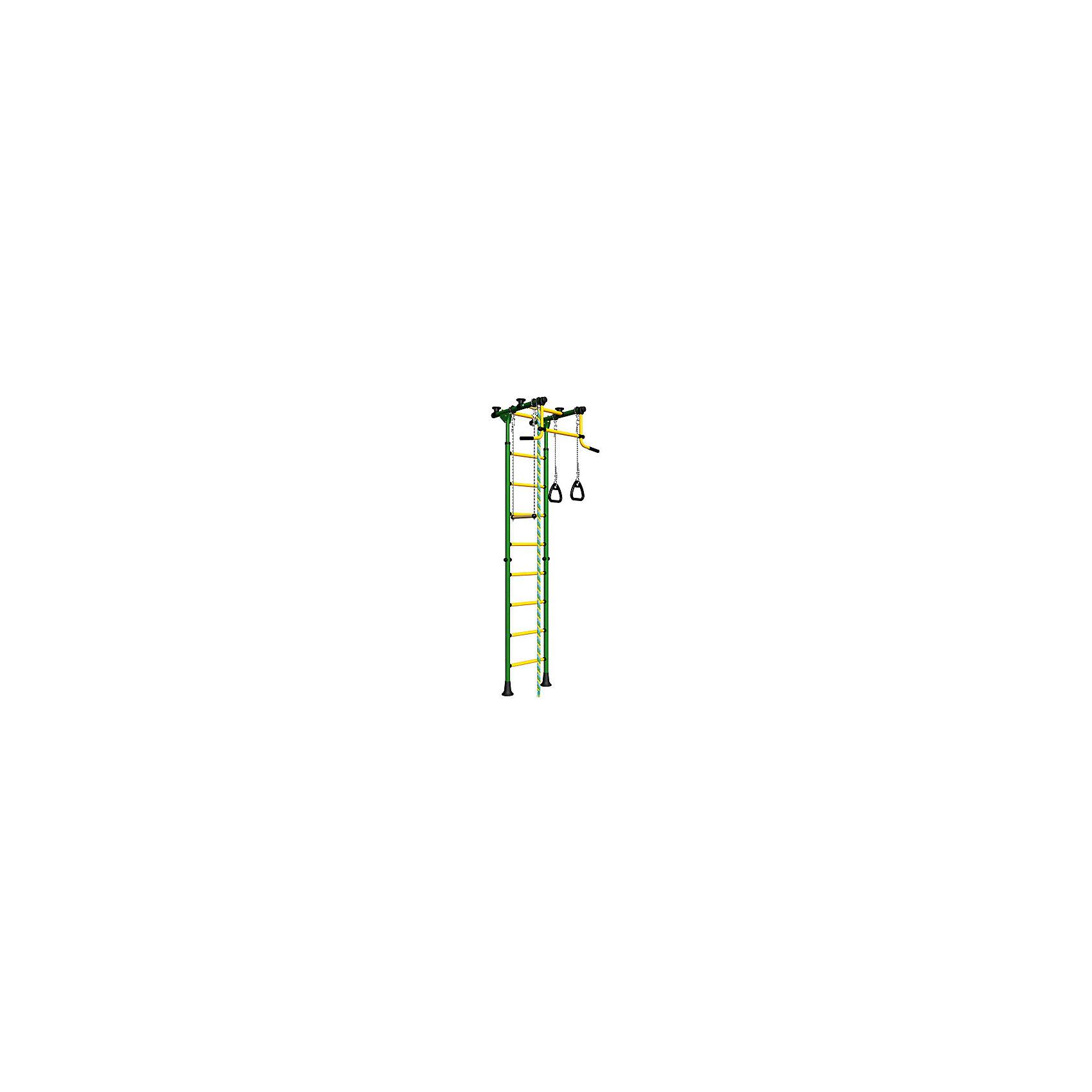 ROMANA Шведская стенка Комета-2, ROMANA, зеленый-желтый мягкие кресла romana пуфик макака