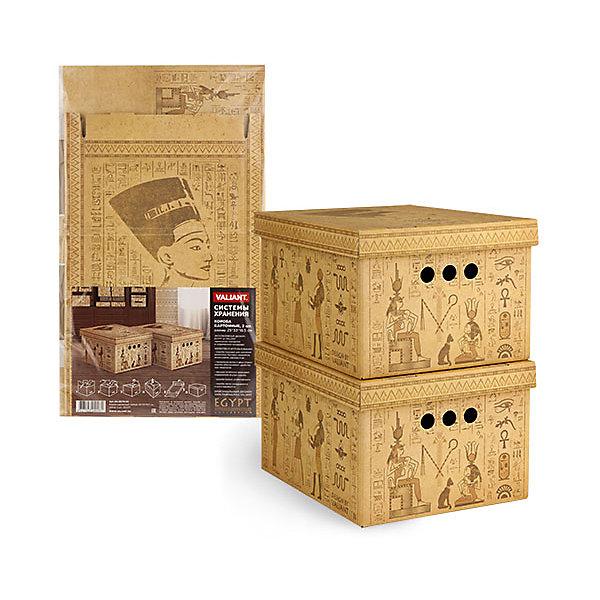 Короб картонный, складной, малый, 25*33*18.5 см, 2 шт., EGYPT, ValiantОрганайзеры для одежды<br>Короб картонный, складной, малый, 25*33*18.5 см, 2 шт., EGYPT, Valiant (Валиант) - это идеальное решение для хранения вещей.<br>Складные картонные короба EGYPT от Valiant (Валиант) идеально подходят для хранения различных бытовых предметов, аксессуаров и одежды. Они изготовлены микрогофрокартона. Прорезные ручки с двух сторон коробов обеспечивают удобство при переноске. Крышки эстетично закрывает содержимое внутри коробов. Изделия отличаются мобильностью: легко раскладываются и складываются. Короба можно штабелировать. <br><br>Дополнительная информация:<br><br>- В наборе: 2 шт.<br>- Размер: 25х33х18,5 см.<br>- Материал: микрогофрокартон<br>- Цвет: бежевый<br><br>Короб картонный, складной, малый, 25*33*18.5 см, 2 шт., EGYPT, Valiant (Валиант) можно купить в нашем интернет-магазине.<br><br>Ширина мм: 340<br>Глубина мм: 15<br>Высота мм: 580<br>Вес г: 425<br>Возраст от месяцев: 36<br>Возраст до месяцев: 1080<br>Пол: Унисекс<br>Возраст: Детский<br>SKU: 4993413