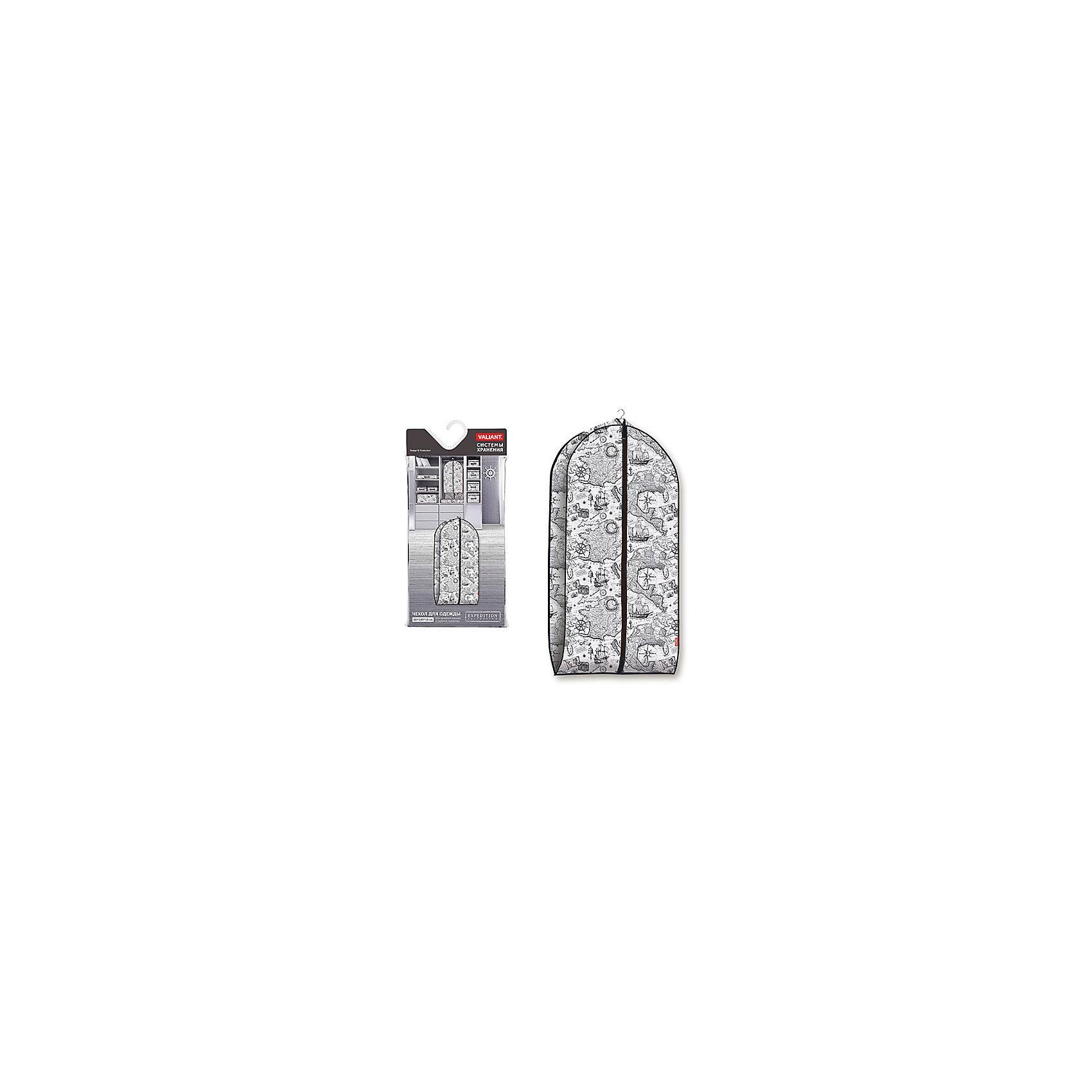 Чехол для одежды объемный, малый, 60*100*10 см, EXPEDITION, ValiantОрганайзеры для одежды<br>Чехол для одежды объемный, малый, 60*100*10 см, EXPEDITION, Valiant (Валиант) – это эстетичное решение для хранения одежды.<br>Чехол для одежды EXPEDITION от Valiant (Валиант) разработан специально для хранения короткой верхней одежды: шуб, дубленок, пуховиков, пальто, плащей, костюмов и платьев. Он изготовлен из высококачественного нетканого материала, который обеспечивает естественную вентиляцию, позволяя воздуху проникать внутрь, но не пропускает пыль. Чехол очень удобен в использовании. Наличие боковой вставки увеличивает объем чехла, что позволяет хранить крупные объемные вещи. Чехол легко открывается и закрывается застежкой-молнией. Идеально подойдет для хранения одежды и удобной перевозки. Чехол оформлен стильным и неброским рисунком в виде географической карты, который напомнит Вам о путешествиях. Оригинальный монохромный дизайн погружает в романтическую атмосферу морских экспедиций, дальних странствий и географических открытий. Чехол для одежды EXPEDITION от Valiant (Валиант) станет стильным акцентом в современном гардеробе.<br><br>Дополнительная информация:<br><br>- Размер: 60х100х10 см.<br>- Материал: нетканый материал<br>- Цвет: коричневый<br><br>Чехол для одежды объемный, малый, 60*100*10 см, EXPEDITION, Valiant (Валиант) можно купить в нашем интернет-магазине.<br><br>Ширина мм: 200<br>Глубина мм: 20<br>Высота мм: 420<br>Вес г: 211<br>Возраст от месяцев: 36<br>Возраст до месяцев: 1080<br>Пол: Унисекс<br>Возраст: Детский<br>SKU: 4993421