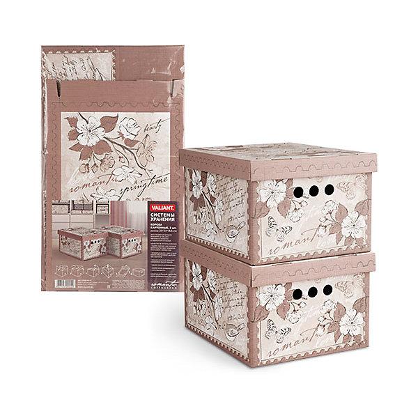 Короб картонный, складной, малый, 25*33*18.5 см, 2 шт., ROMANTIC, ValiantОрганайзеры для одежды<br>Короб картонный, складной, малый, 25*33*18.5 см, 2 шт., ROMANTIC, Valiant (Валиант) - это идеальное решение для хранения вещей.<br>Складные картонные короба ROMANTIC от Valiant (Валиант) идеально подходят для хранения различных бытовых предметов, аксессуаров и одежды. Они изготовлены микрогофрокартона. Прорезные ручки с двух сторон коробов обеспечивают удобство при переноске. Крышки эстетично закрывает содержимое внутри коробов. Изделия отличаются мобильностью: легко раскладываются и складываются. Короба можно штабелировать. Картонные короба ROMANTIC оформлены оригинальным нежным, изящным рисунком, который гармонично смотрится в женском гардеробе. Короба ROMANTIC от Valiant (Валиант) создадут трогательную атмосферу романтического настроения и станут незаменимым аксессуаром.<br><br>Дополнительная информация:<br><br>- В наборе: 2 шт.<br>- Размер: 25х33х18,5 см.<br>- Материал: микрогофрокартон<br>- Цвет: пепельно-розовый<br><br>Короб картонный, складной, малый, 25*33*18.5 см, 2 шт., ROMANTIC, Valiant (Валиант) можно купить в нашем интернет-магазине.<br><br>Ширина мм: 340<br>Глубина мм: 15<br>Высота мм: 580<br>Вес г: 425<br>Возраст от месяцев: 36<br>Возраст до месяцев: 1080<br>Пол: Унисекс<br>Возраст: Детский<br>SKU: 4993459