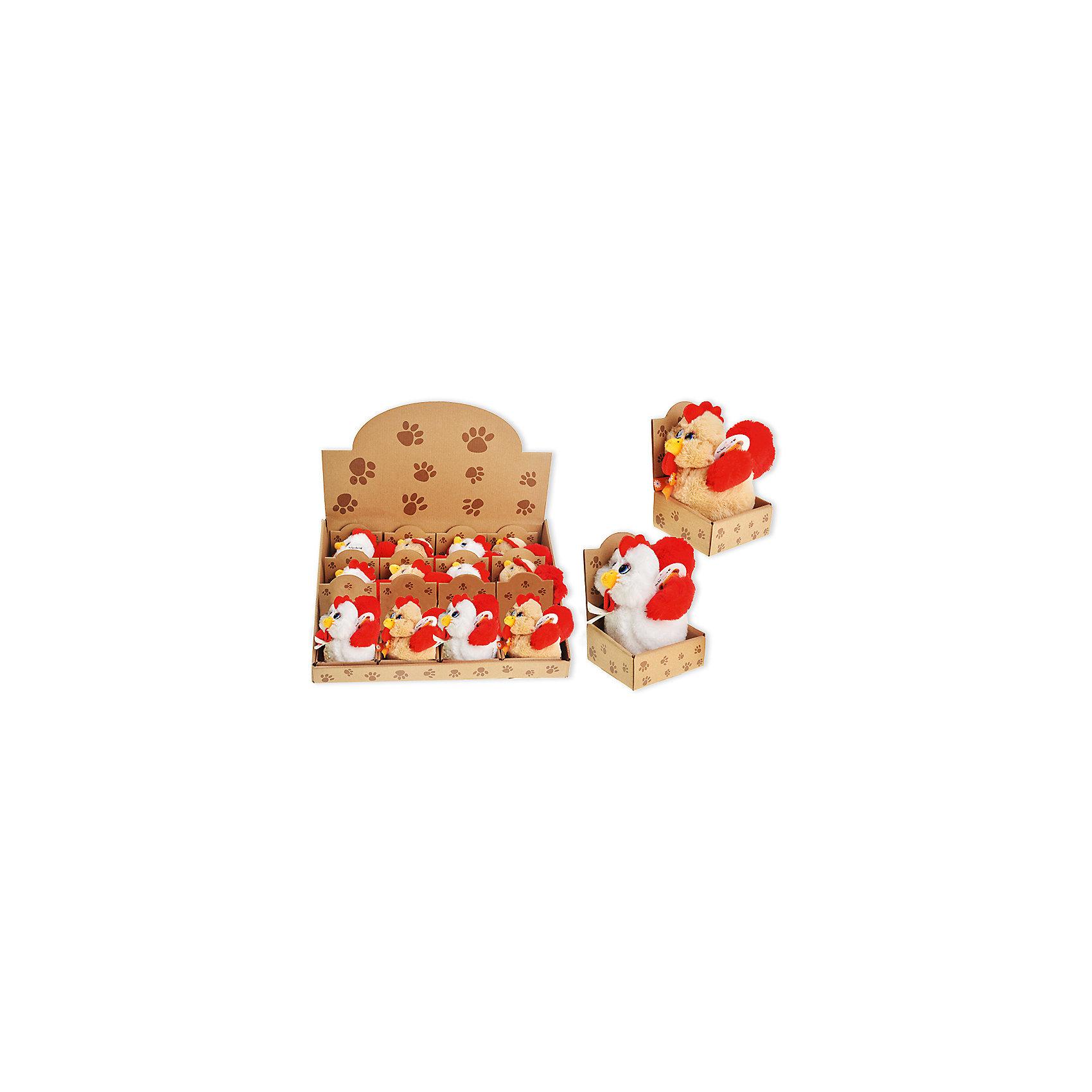 Мягкая игрушка Петушок 10 смЗвери и птицы<br>Мягкая игрушка  - универсальный подарок. Стилизованная игрушка «Петушок» понравится всем малышам. Модель подойдет в качестве дополнения к новогоднему подарку (петух - символ 2017 года). Ее можно использовать, как элемент декора в интерьере детской или просто играть. Игрушка изготовлена из высококачественного материала, отвечающего всем международным стандартам по безопасности детских товаров, а так же не вызывает аллергии при соприкосновении с ним. Каждая модель упакована в индивидуальную картонную коробку. Игрушка имеет большой ассортимент цветового решения. <br><br>Дополнительная информация: <br><br>высота: 10см;;<br>цвет: разноцветный;<br>материал: текстиль.<br><br>Мягкую игрушку «Петушок» можно приобрести в нашем магазине.<br><br>Ширина мм: 100<br>Глубина мм: 100<br>Высота мм: 10<br>Вес г: 50<br>Возраст от месяцев: 36<br>Возраст до месяцев: 120<br>Пол: Унисекс<br>Возраст: Детский<br>SKU: 4993533
