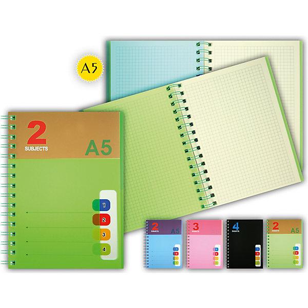 Блокнот А5 с разделителямиПоследняя цена<br>Блокнот – универсальный помощник для дома, школы и работы. Качественная записная книжка – незаменимая вещь в современном мире. Никакие гаджеты не заменят такой нужный аксессуар. Листы выполнены в клетку для большего удобства. Блокнот имеет цветные разделители для большего комфорта пользователей и быстрой навигации по всей записной книжке. Широкая цветовая гамма позволит выбрать тетрадь на свой вкус. Бумага, использованная при изготовлении блокнота, отвечает всем требованиям по качеству и безопасности материалов. Модель подходит для детей.<br><br>Дополнительная информация: <br><br>формат: А5;<br>габариты: 15,5х20,5 см;<br>цвет: разноцветный.<br><br>Блокнот А5 с разделителями можно приобрести в нашем магазине.<br><br>Ширина мм: 100<br>Глубина мм: 100<br>Высота мм: 10<br>Вес г: 50<br>Возраст от месяцев: 36<br>Возраст до месяцев: 120<br>Пол: Унисекс<br>Возраст: Детский<br>SKU: 4993537