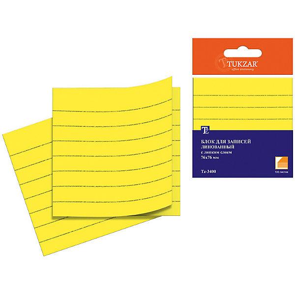 Блок с липким слоем, 100 листовПоследняя цена<br>Блок с липким слоем  – отличный помощник для учебы, работы и просто повседневной жизни. Во время подготовки к школе важно уделить внимание каждой мелочи. Если в списке предметов для учебы есть стикеры, то стоит обратить внимание на стикеры – разделители. Яркие цвета и качественный материал – визитная карточка модели. Клеевой слой достаточно прочный для крепления листов, но при этом легко открепляется, не оставляя при этом следов. Все материалы, использованные при изготовлении, отвечают международным требованиям по качеству и безопасности. Модель подходит для детей.<br><br>Дополнительная информация: <br><br>габариты: 76х76мм;<br>цвет: желтый;<br>количество: 100 страниц.<br><br>Блок с липким слоем можно приобрести в нашем магазине.<br>Ширина мм: 100; Глубина мм: 100; Высота мм: 10; Вес г: 50; Возраст от месяцев: 36; Возраст до месяцев: 120; Пол: Унисекс; Возраст: Детский; SKU: 4993541;