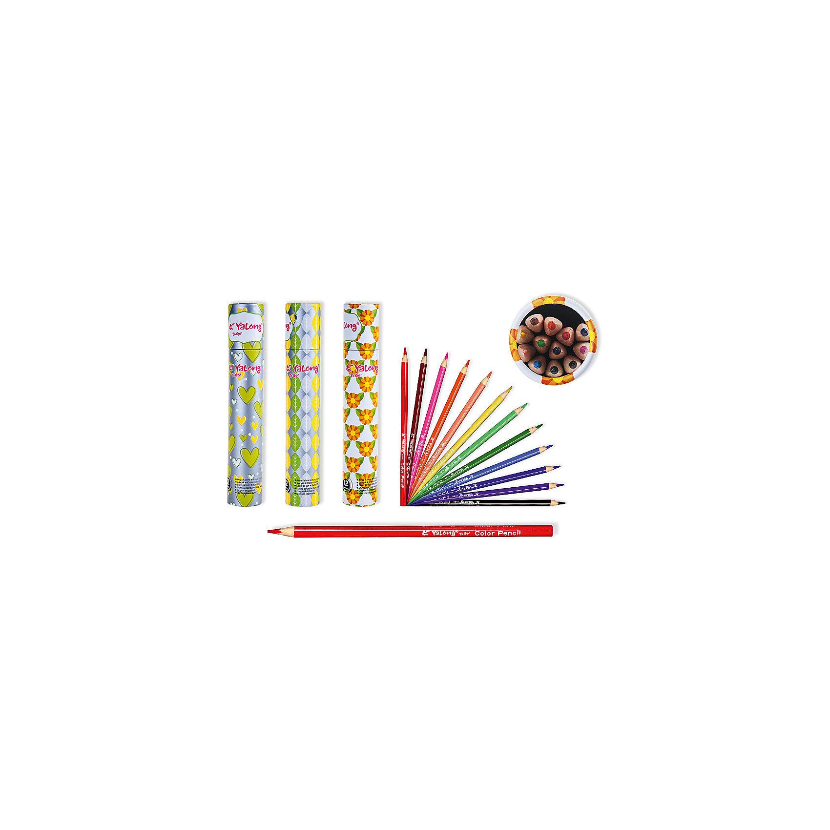 Цветные карандаши в тубе, 12 цветов (дизайн в ассортименте)Последняя цена<br>Набор цветных карандашей – классический пункт в списке школьных покупок. Качественные карандаши прослужат ребенку не один год даже при активном использовании. Важно подобрать набор с яркими цветами, мягким, но прочным стержнем и грифелем с легкой растушевкой. Данная модель набора цветных карандашей – отличный выбор для обновки школьного пенала. Карандаши имеют трехгранный корпус, что выглядит довольно необычно. Все материалы, использованные при изготовлении, отвечают международным требованиям по качеству и безопасности.<br><br>Дополнительная информация: <br><br>количество цветов: 12 шт;<br>упаковка: картонная туба, картонный дисплей.<br><br>Набор цветных карандашей можно приобрести в нашем магазине.<br><br>Ширина мм: 100<br>Глубина мм: 100<br>Высота мм: 10<br>Вес г: 50<br>Возраст от месяцев: 36<br>Возраст до месяцев: 120<br>Пол: Унисекс<br>Возраст: Детский<br>SKU: 4993553