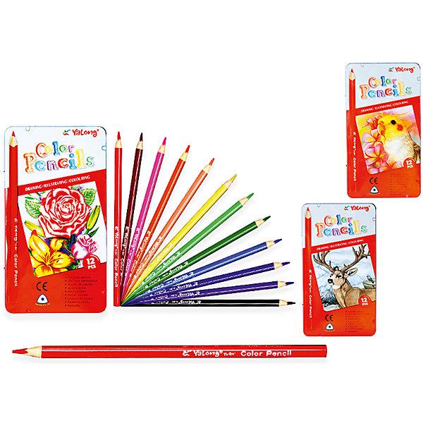 Трехгранные цветные карандаши, 12 цветов в металлическом кейсеПоследняя цена<br>Набор цветных карандашей – классический пункт в списке школьных покупок. Качественные карандаши прослужат ребенку не один год даже при активном использовании. Важно подобрать набор с яркими цветами, мягким, но прочным стержнем и грифелем с легкой растушевкой. Данная модель набора цветных карандашей – отличный выбор для обновки школьного пенала. Карандаши имеют трехгранный корпус, что выглядит довольно необычно. Все материалы, использованные при изготовлении, отвечают международным требованиям по качеству и безопасности.<br><br>Дополнительная информация: <br>количество цветов: 12 шт;<br><br>Набор цветных карандашей можно приобрести в нашем магазине.<br>Ширина мм: 100; Глубина мм: 100; Высота мм: 10; Вес г: 50; Возраст от месяцев: 36; Возраст до месяцев: 120; Пол: Унисекс; Возраст: Детский; SKU: 4993554;