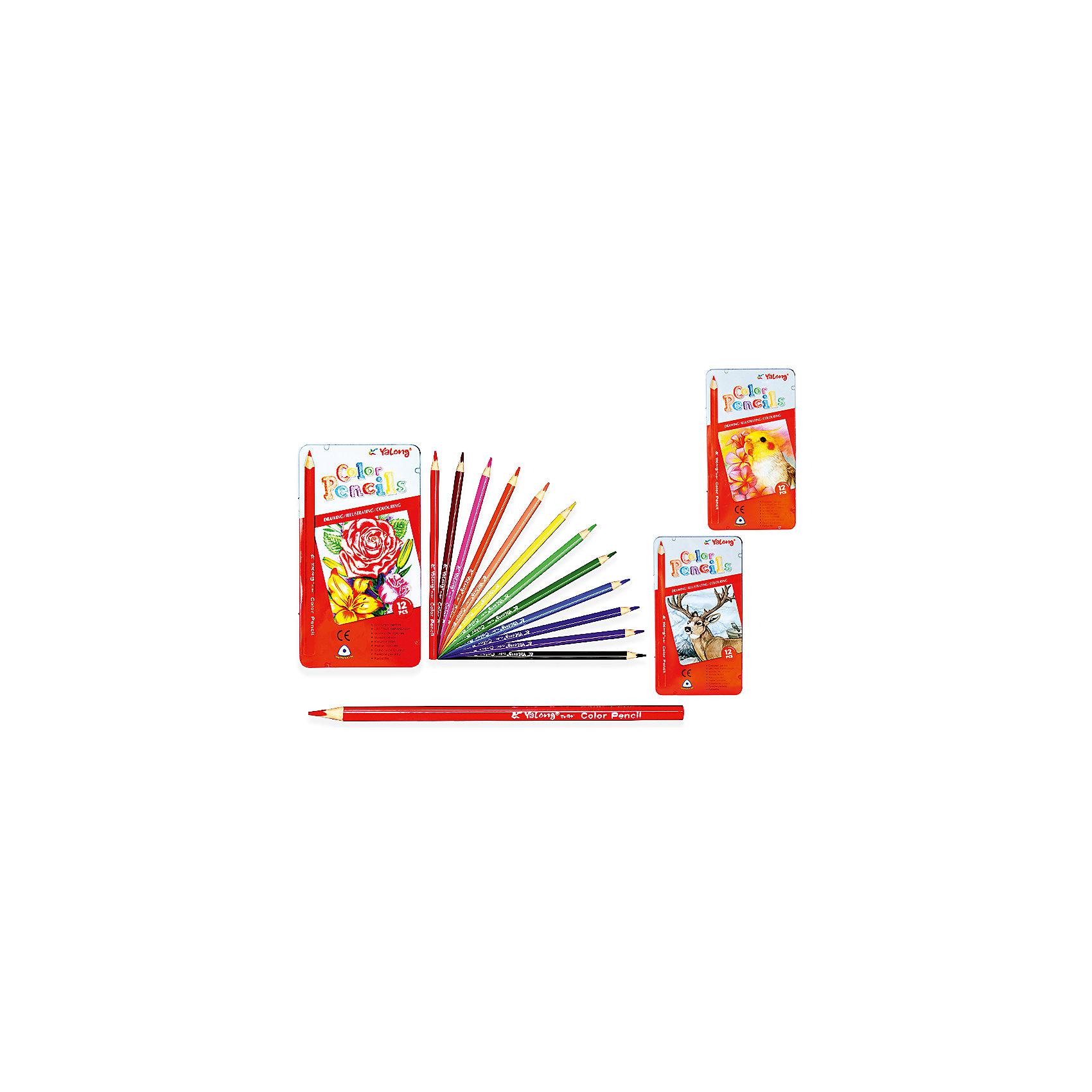 Трехгранные цветные карандаши, 12 цветов в металлическом кейсеПоследняя цена<br>Набор цветных карандашей – классический пункт в списке школьных покупок. Качественные карандаши прослужат ребенку не один год даже при активном использовании. Важно подобрать набор с яркими цветами, мягким, но прочным стержнем и грифелем с легкой растушевкой. Данная модель набора цветных карандашей – отличный выбор для обновки школьного пенала. Карандаши имеют трехгранный корпус, что выглядит довольно необычно. Все материалы, использованные при изготовлении, отвечают международным требованиям по качеству и безопасности.<br><br>Дополнительная информация: <br>количество цветов: 12 шт;<br><br>Набор цветных карандашей можно приобрести в нашем магазине.<br><br>Ширина мм: 100<br>Глубина мм: 100<br>Высота мм: 10<br>Вес г: 50<br>Возраст от месяцев: 36<br>Возраст до месяцев: 120<br>Пол: Унисекс<br>Возраст: Детский<br>SKU: 4993554