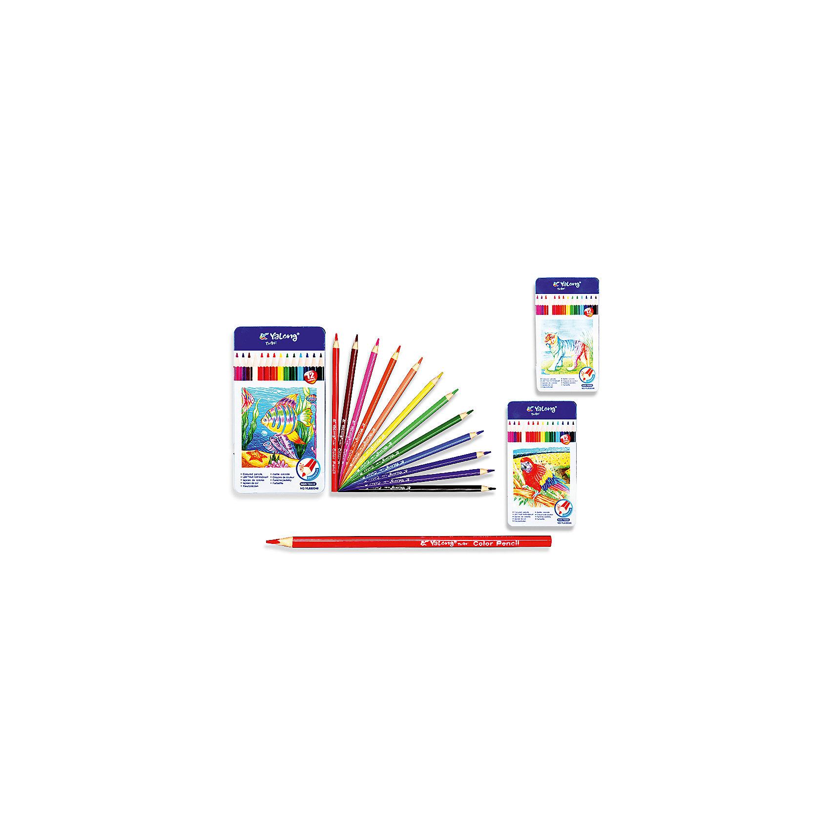 Трехгранные цветные карандаши, 12 цветов в металлическом кейсеПисьменные принадлежности<br>Набор цветных карандашей – классический пункт в списке школьных покупок. Качественные карандаши прослужат ребенку не один год даже при активном использовании. Важно подобрать набор с яркими цветами, мягким, но прочным стержнем и грифелем с легкой растушевкой. Данная модель набора цветных карандашей – отличный выбор для обновки школьного пенала. Карандаши имеют трехгранный корпус, что выглядит довольно необычно. Все материалы, использованные при изготовлении, отвечают международным требованиям по качеству и безопасности.<br><br>Дополнительная информация: <br><br>количество цветов: 12 шт;<br>упаковка: металлическая, картонный дисплей.<br><br>Набор цветных карандашей можно приобрести в нашем магазине.<br><br>Ширина мм: 100<br>Глубина мм: 100<br>Высота мм: 10<br>Вес г: 50<br>Возраст от месяцев: 36<br>Возраст до месяцев: 120<br>Пол: Унисекс<br>Возраст: Детский<br>SKU: 4993555