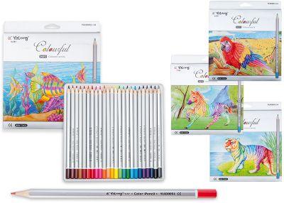 Schreiber Цветные карандаши, 24 цвета фото-1