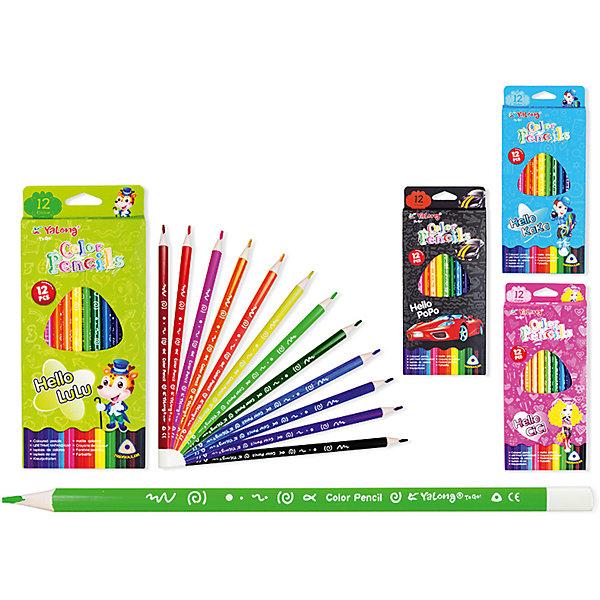 Трехгранные цветные карандаши, 12 цветовПоследняя цена<br>Набор цветных карандашей – классический пункт в списке школьных покупок. Качественные карандаши прослужат ребенку не один год даже при активном использовании. Важно подобрать набор с яркими цветами, мягким, но прочным стержнем и грифелем с легкой растушевкой. Данная модель набора цветных карандашей – отличный выбор для обновки школьного пенала. Карандаши имеют трехгранный корпус, что выглядит довольно необычно. Все материалы, использованные при изготовлении, отвечают международным требованиям по качеству и безопасности.<br><br>Дополнительная информация: <br><br>количество цветов: 12 шт;<br>упаковка: картонный дисплей.<br><br>Набор цветных карандашей можно приобрести в нашем магазине.<br>Ширина мм: 100; Глубина мм: 100; Высота мм: 10; Вес г: 50; Возраст от месяцев: 36; Возраст до месяцев: 120; Пол: Унисекс; Возраст: Детский; SKU: 4993559;