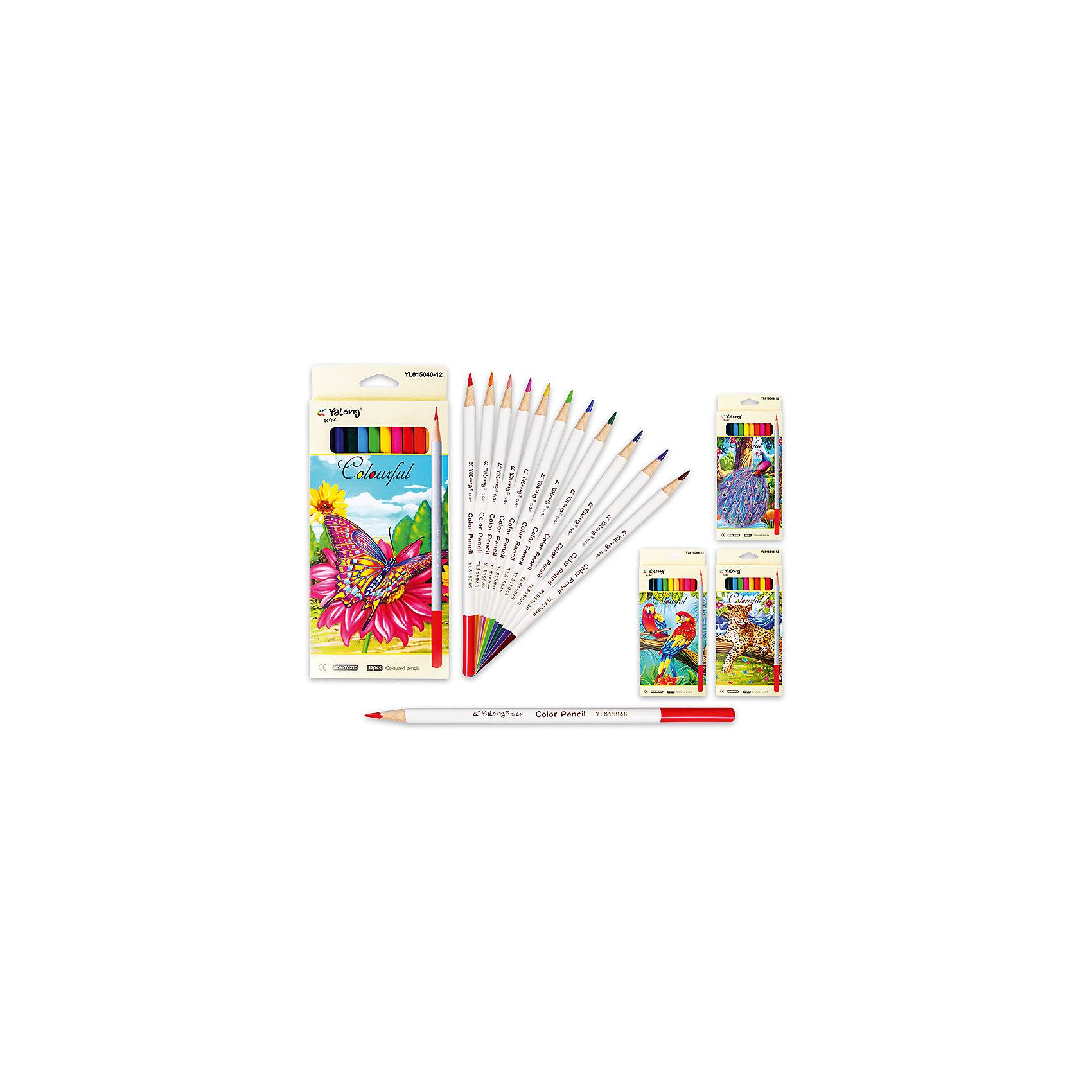 Цветные карандаши, 12 цветов (дизайн в ассортименте)Письменные принадлежности<br>Набор цветных карандашей – классический пункт в списке школьных покупок. Качественные карандаши прослужат ребенку не один год даже при активном использовании. Важно подобрать набор с яркими цветами, мягким, но прочным стержнем и грифелем с легкой растушевкой. Данная модель набора цветных карандашей – отличный выбор для обновки школьного пенала. Карандаши имеют круглый бежевый корпус с цветным окончанием, что выглядит стильно. Все материалы, использованные при изготовлении, отвечают международным требованиям по качеству и безопасности.<br><br>Дополнительная информация: <br><br>количество цветов: 12 шт;<br>материал: дерево.<br><br>Цветные карандаши, 12 цветов (дизайн в ассортименте) можно приобрести в нашем магазине.<br><br>Ширина мм: 100<br>Глубина мм: 100<br>Высота мм: 10<br>Вес г: 50<br>Возраст от месяцев: 36<br>Возраст до месяцев: 120<br>Пол: Унисекс<br>Возраст: Детский<br>SKU: 4993597