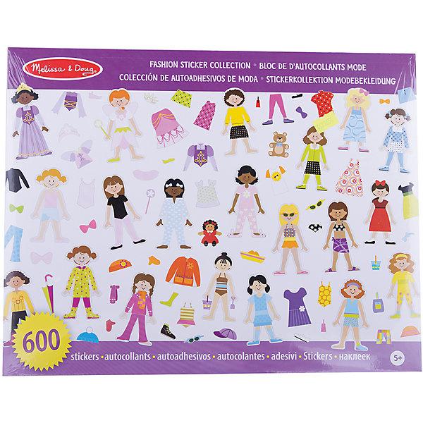 Книжка с многоразовыми наклейками МодаКнижки с наклейками<br>Думаете, как порадовать ребенка? Такой набор - это отличный вариант подарка ребенку, который одновременно и развлечет малыша, и позволит ему развивать важные навыки. Это способствует развитию у малышей мелкой моторики, цветовосприятия, художественного вкуса, внимания и воображения. <br>Набор состоит из десяти листов с фигурками, которые нужно одеть с помощью наклеек. Особенно понравится любителям моды. Набор отличается простотой использования и отличным качеством исполнения. <br><br>Дополнительная информация:<br><br>комплектация: 10 листов, 600 наклеек;<br>материал: бумага;<br>размер упаковки: 360 х 280 х 10 мм.<br><br>Набор стикеров Мода от бренда Melissa&amp;Doug можно купить в нашем магазине.<br><br>Ширина мм: 360<br>Глубина мм: 10<br>Высота мм: 280<br>Вес г: 272<br>Возраст от месяцев: 36<br>Возраст до месяцев: 96<br>Пол: Женский<br>Возраст: Детский<br>SKU: 4993654