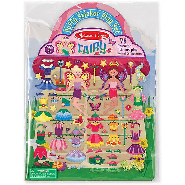 Книжка с многоразовыми наклейками ФеиКнижки с наклейками<br>Для ребенка очень важно творчество - так он развивает свои способности и играет одновременно. Такой набор - это отличный вариант подарка ребенку, который одновременно и развлечет малыша, и позволит ему развивать важные навыки. Это способствует развитию у малышей мелкой моторики, цветовосприятия, художественного вкуса, внимания и воображения. <br>Набор состоит из фона, который можно заполнять: оживлять мир фей с помощью наклеек. Это очень увлекательно! Набор отличается простотой использования и отличным качеством исполнения. <br><br>Дополнительная информация:<br><br>комплектация: книжка с фоном, 75 наклеек;<br>материал: бумага.<br><br>Стикеры Феи 75 шт от бренда Melissa&amp;Doug можно купить в нашем магазине.<br>Ширина мм: 220; Глубина мм: 10; Высота мм: 300; Вес г: 91; Возраст от месяцев: 48; Возраст до месяцев: 108; Пол: Женский; Возраст: Детский; SKU: 4993712;