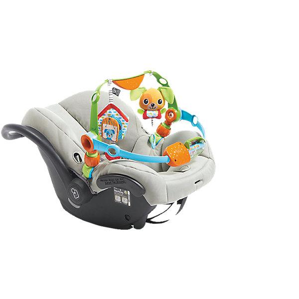 Дуга игровая для ручек и ножек, Tiny LoveИгрушки для новорожденных<br>Характеристики товара:<br><br>- цвет: разноцветный;<br>- материал: пластик, текстиль, резина;<br>- размер: 50 x 31 x 7 см;<br>- вес: 950 г;<br>- легко подвесить над коляской.<br><br>Детская яркая игровая дуга – отличный подарок для ребенка. В процессе игры с ней ребенок развивает моторику, тактильное восприятие, воображение, внимание и координацию движений, слуховые навыки. Игрушка дополнена прорезываетлями. Также дугу можно толкать ножками, при этом она будет их мягко массировать. Эта дуга сделана специально для маленьких ручек и ножек ребёнка. <br>Такая игрушка позволит малышу с детства развивать цветовостприятие, также она помогает детям научиться фокусировать внимание. Изделие произведено из качественных материалов, безопасных для ребенка.<br><br>Дугу игровую для ручек и ножек от бренда Tiny Love можно купить в нашем интернет-магазине.<br><br>Ширина мм: 511<br>Глубина мм: 345<br>Высота мм: 83<br>Вес г: 884<br>Возраст от месяцев: 0<br>Возраст до месяцев: 6<br>Пол: Унисекс<br>Возраст: Детский<br>SKU: 4994585