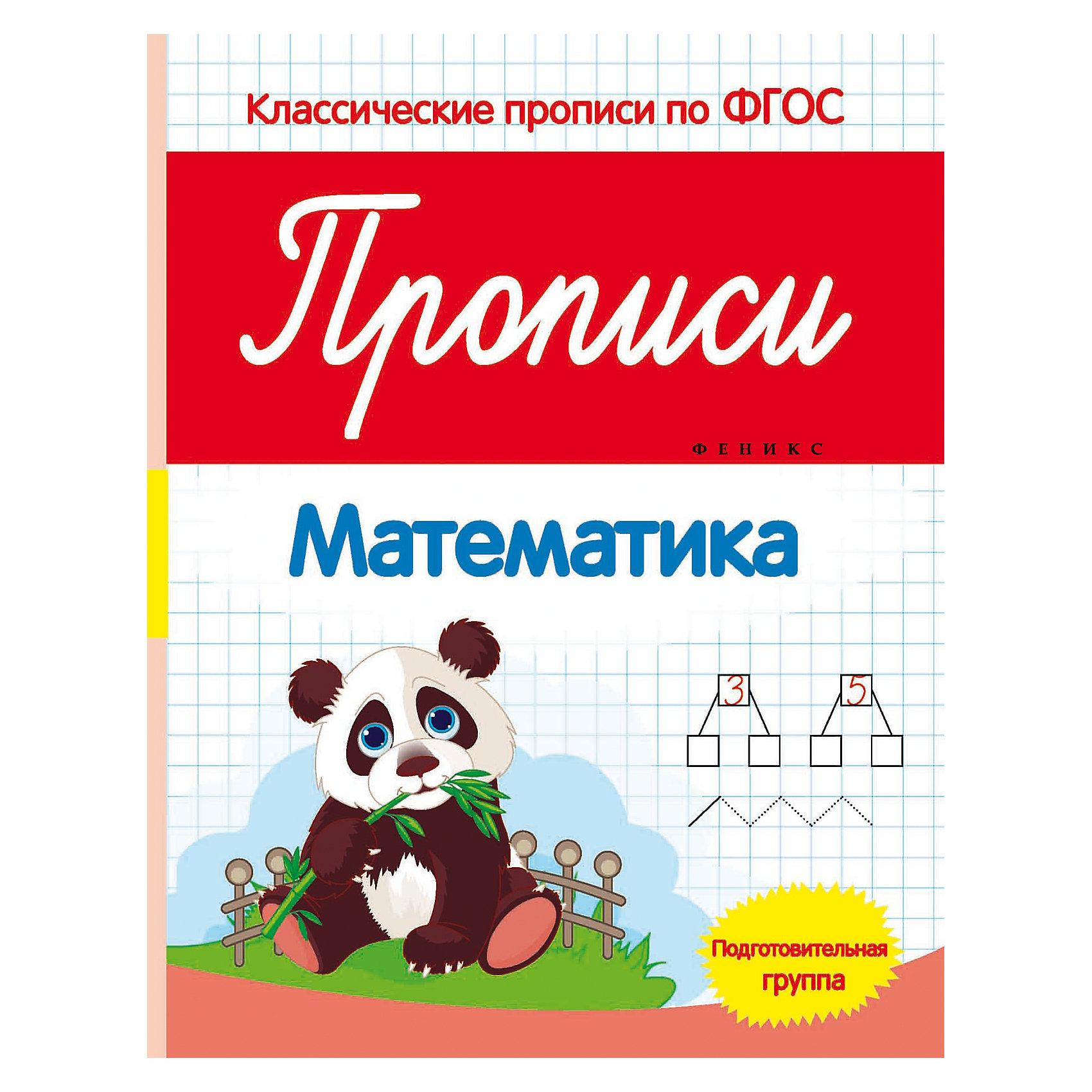 Fenix Прописи: математика (подготовительная группа) детский самокат fenix cms031
