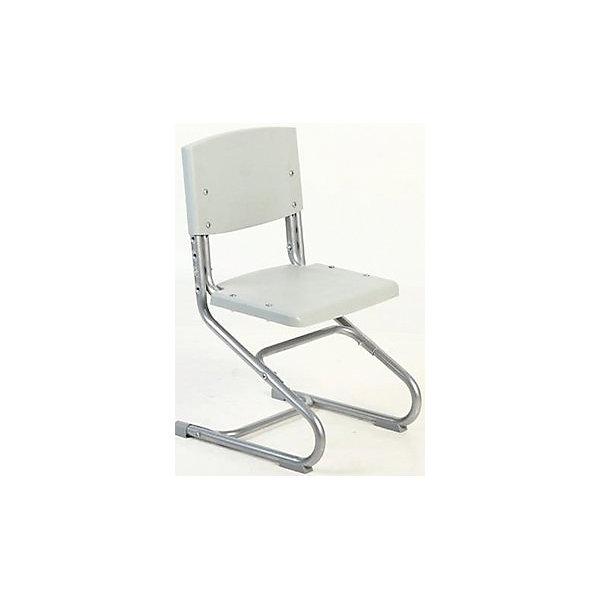 Стул универсальный СУТ.01-01, Дэми, серыйСтулья к партам<br>Ученический стул «Дэми» регулируется по высоте спинки и глубине сиденья. Данные показатели подбираются индивидуально под рост ребенка, чтобы обеспечить правильное положение тела за письменным столом. Правильная осанка и ровная спина – залог здоровья ребенка.<br><br>Дополнительная информация:<br><br>Регулируемая высота стула от пола до сиденья: 34,5-46,5 см<br>Регулируемая высота спинки: 33-40,9 см<br>Регулируемая глубина сиденья: 33-34,3 см<br>Ширина стула (каркас, сиденье и спинка): 40 см<br><br>Каркас стула выполнен из металла, спинка и сиденье – из пластика.<br><br>Ростовая группа: 3-6<br>Угол наклона сиденья: 2 градуса.<br>Максимальная нагрузка: 80 кг<br><br>Необходима сборка, стул поставляется в разобранном виде.  <br><br>Стул универсальный СУТ.01-01, Дэми, серый можно купить в нашем интернет-магазине.<br><br>Ширина мм: 730<br>Глубина мм: 605<br>Высота мм: 770<br>Вес г: 8000<br>Возраст от месяцев: 36<br>Возраст до месяцев: 84<br>Пол: Унисекс<br>Возраст: Детский<br>SKU: 4995034