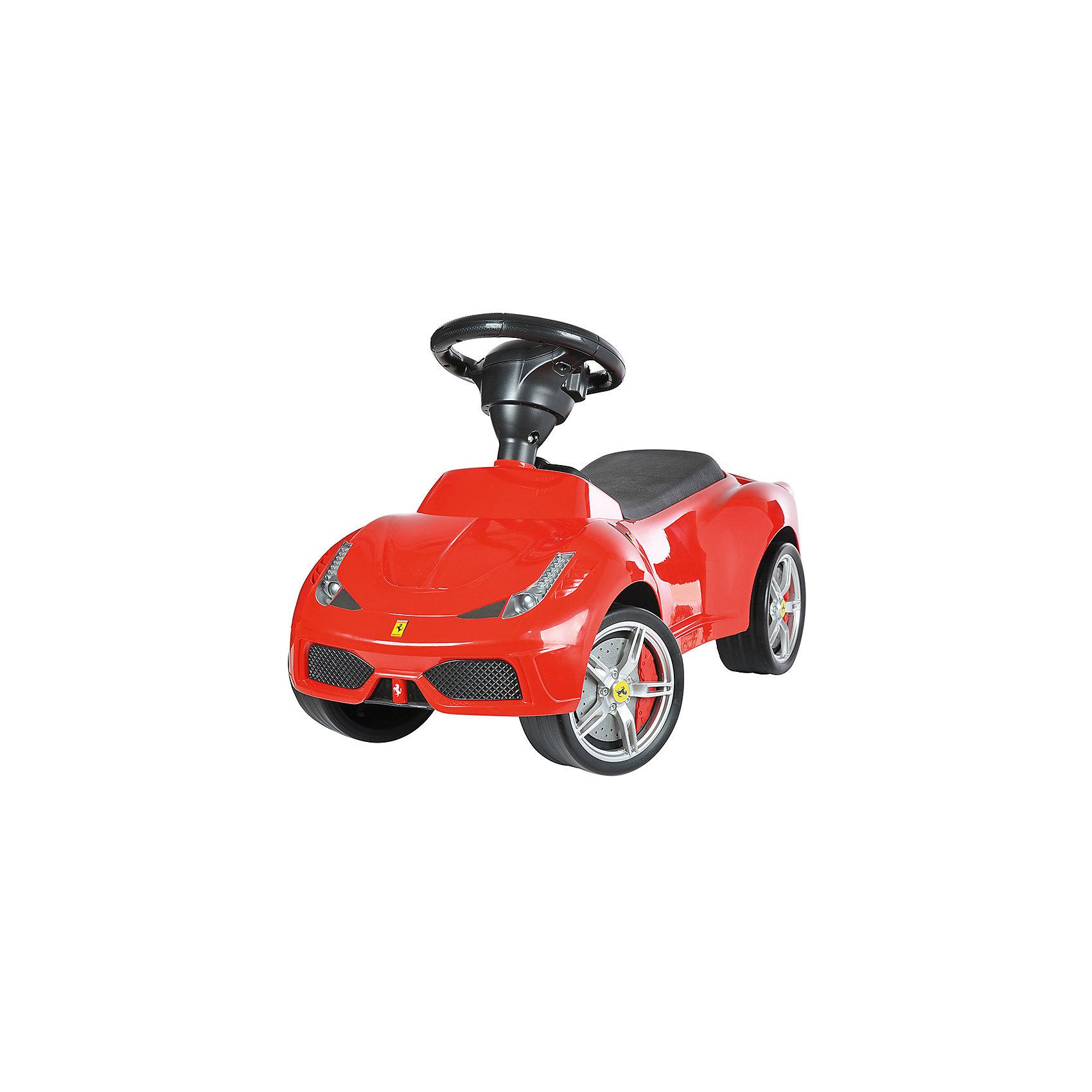 Каталка Ferrari 458 Speciale A,  красный, RASTARКаталка Ferrari 458 Speciale A, красный, RASTAR - осчастливьте своего ребенка безопасной детской машиной.<br>Благодаря тому, что каталка имеет устойчивую конструкцию и колеса с поворотом на 90 градусов, она полностью безопасна для ребенка, даже если он любит быструю езду.  На руле есть кнопка для звукового сигнала. Ход машины очень плавный, может ездить вперед и назад. Есть вместительный багажник для игрушек или вещей, под сиденьем. Машина сделана под марку «Ferrari» с сидениями из искусственной кожи.<br><br>Дополнительная информация:<br><br>- вес: 3,8 кг<br>- возраст: от 1 до 3 лет<br>- максимальный вес: до 30 кг<br>- цвет: красный<br><br>Каталку Ferrari 458 Speciale A, красный, RASTAR можно купить в нашем интернет магазине.<br><br>Ширина мм: 650<br>Глубина мм: 350<br>Высота мм: 300<br>Вес г: 3800<br>Возраст от месяцев: 12<br>Возраст до месяцев: 36<br>Пол: Унисекс<br>Возраст: Детский<br>SKU: 4995159