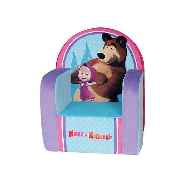 Мягкое кресло с чехлом 53*41*32 Маша и Медведь, СмолТойс, голубойДетские мягкие кресла<br>Думаете, чем порадовать ребенка? Подарите это кресло! Детям очень важно иметь свои вещи, это касается не только посуды и игрушек, но и мебели. Именно поэтому такое кресло станет действительно желанным подарком для малыша. Тем более, что на нем есть изображение любимых мультяшных герои современных детей - Маши и Медведя.<br>Обивка кресла - мягкая и приятная на ощупь. Внутри предмет заполнен мягким пенополиуретаном, кресло имеет съемный чехол, который можно постирать при необходимости! Кресло легкое, но устойчивое. Детям будет интересно и удобно в нем сидеть или играть. Такое яркое и симпатичное кресло оживит и украсит комнату ребенка!<br><br>Дополнительная информация:<br><br>цвет: разноцветный;<br>материал: трикотаж, пенополиуретан, дерево;<br>декорировано изображением Маши и Медведя;<br>съемный чехол;<br>размер: 530 х 320 х 410 мм.<br><br>Мягкое кресло с чехлом 53*41*32 Маша и Медведь можно купить в нашем магазине.<br><br>Ширина мм: 32<br>Глубина мм: 41<br>Высота мм: 53<br>Вес г: 1000<br>Возраст от месяцев: 36<br>Возраст до месяцев: 1188<br>Пол: Унисекс<br>Возраст: Детский<br>SKU: 4996595