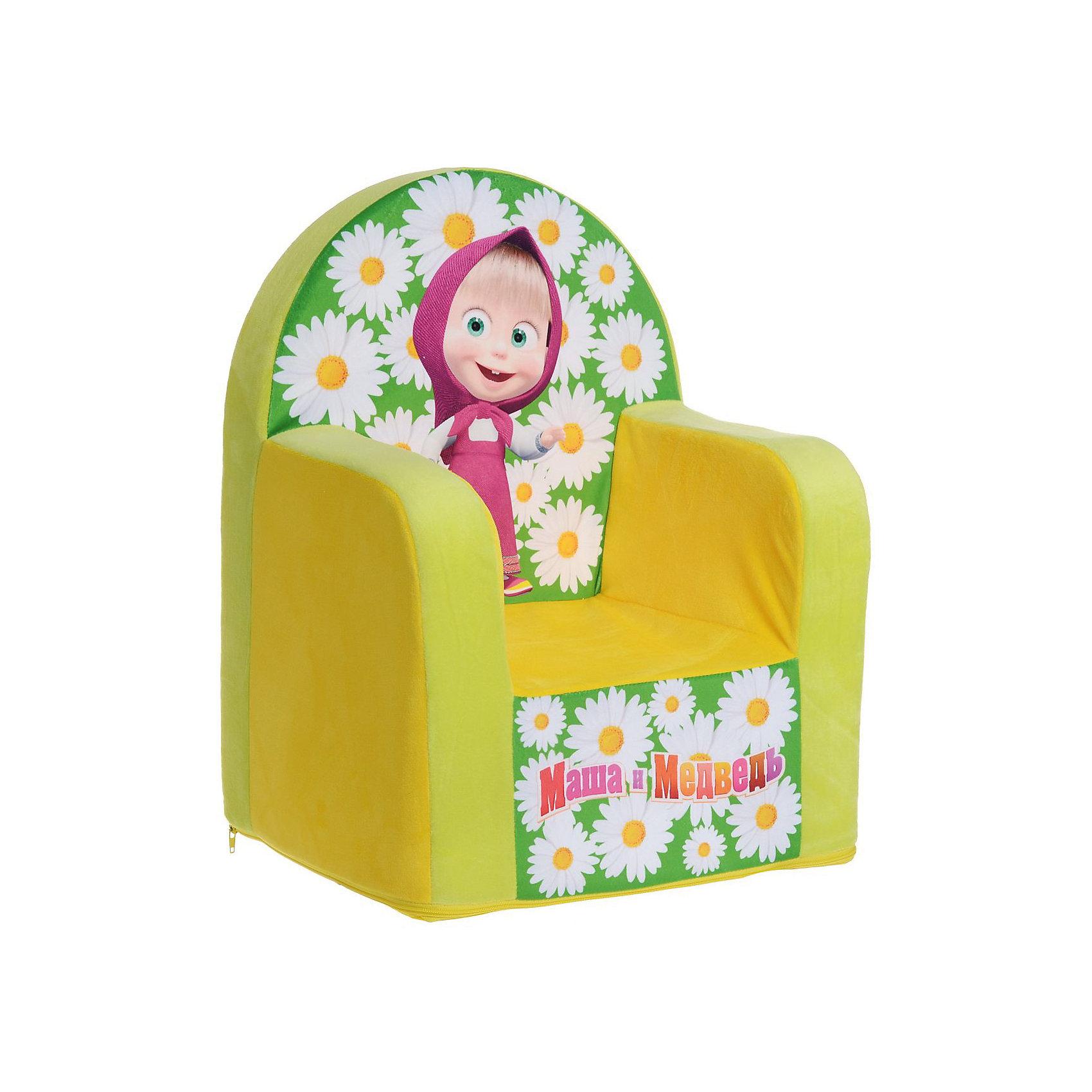 Мягкое кресло с чехлом 53*41*32 Маша и Медведь, СмолТойс, желтыйДетям очень важно иметь свои вещи, это касается не только посуды и игрушек, но и мебели. Именно поэтому такое кресло станет действительно желанным подарком для малыша. Тем более, что на нем есть изображение любимых мультяшных герои современных детей - Маши и Медведя.<br>Обивка кресла - мягкая и приятная на ощупь. Внутри предмет заполнен мягким пенополиуретаном, кресло имеет съемный чехол, который можно постирать при необходимости! Кресло легкое, но устойчивое. Детям будет интересно и удобно в нем сидеть или играть. Такое яркое и симпатичное кресло оживит и украсит комнату ребенка!<br><br>Дополнительная информация:<br><br>цвет: разноцветный;<br>материал: трикотаж, пенополиуретан, дерево;<br>декорировано изображением Маши и Медведя;<br>съемный чехол;<br>размер: 530 х 320 х 410 мм.<br><br>Мягкое кресло с чехлом 53*41*32 Маша и Медведь можно купить в нашем магазине.<br><br>Ширина мм: 32<br>Глубина мм: 41<br>Высота мм: 53<br>Вес г: 1780<br>Возраст от месяцев: 36<br>Возраст до месяцев: 1188<br>Пол: Унисекс<br>Возраст: Детский<br>SKU: 4996596