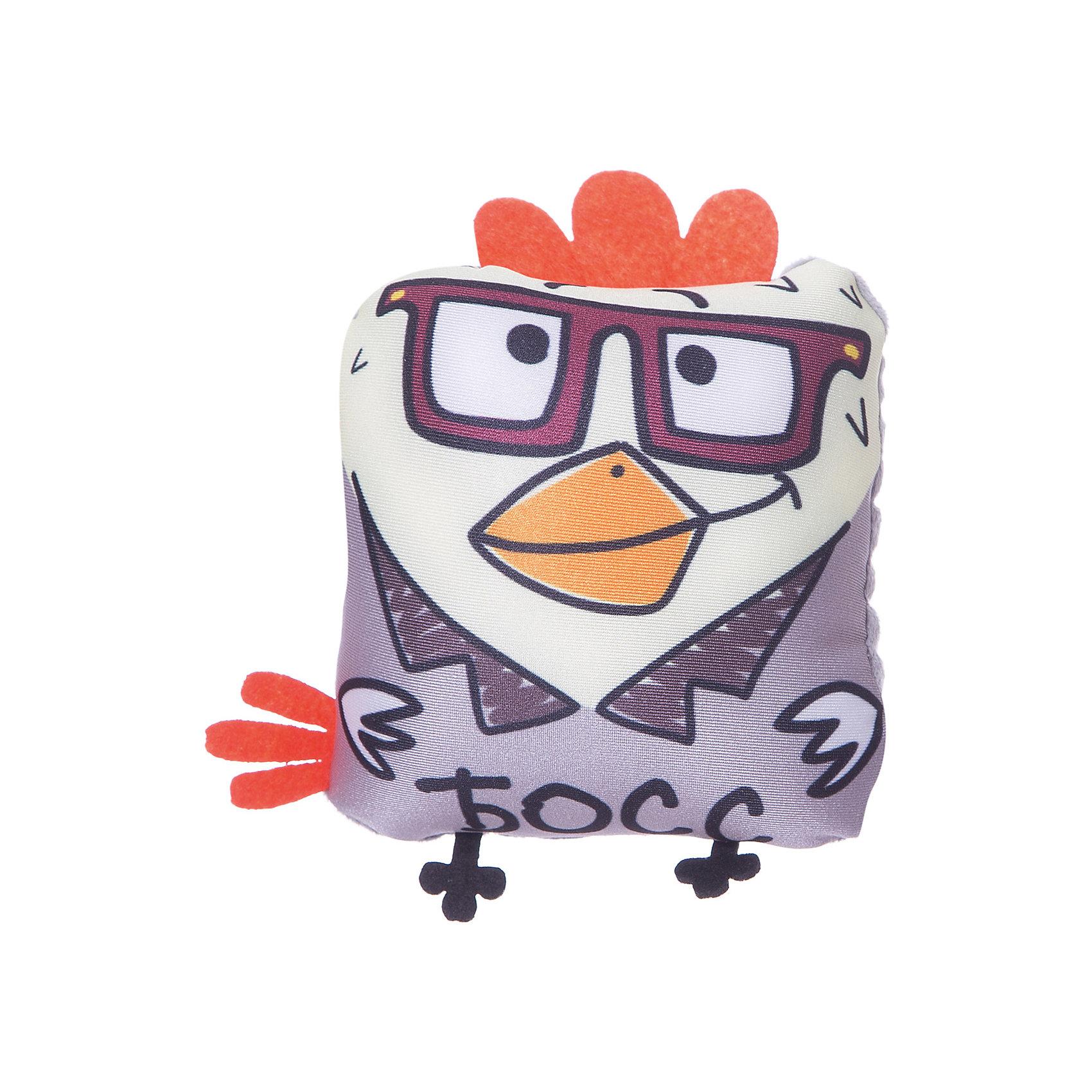 Подушка Петух Босс, СмолТойс, серыйДомашний текстиль<br>Эта мягкая игрушка не может не вызывать улыбку! Думаете, что подарить на Новый год или другой праздник? Подарите этого мягкого петуха! Символ 2017 года выглядит очень симпатично. Такая игрушка понравится и детям и взрослым!<br>Игрушка приятная на ощупь. Внутри предмет заполнен мягким наполнителем. Петух может стать украшением интерьера, так как похож на подушку. Произведена игрушка из качественных и безопасных для здоровья детей материалов.<br><br>Дополнительная информация:<br><br>цвет: разноцветный;<br>материал: текстиль, синтепон;<br>высота: 15 см.<br><br>Подушку Петух Босс можно купить в нашем магазине.<br><br>Ширина мм: 6<br>Глубина мм: 13<br>Высота мм: 13<br>Вес г: 30<br>Возраст от месяцев: 36<br>Возраст до месяцев: 1188<br>Пол: Унисекс<br>Возраст: Детский<br>SKU: 4996604