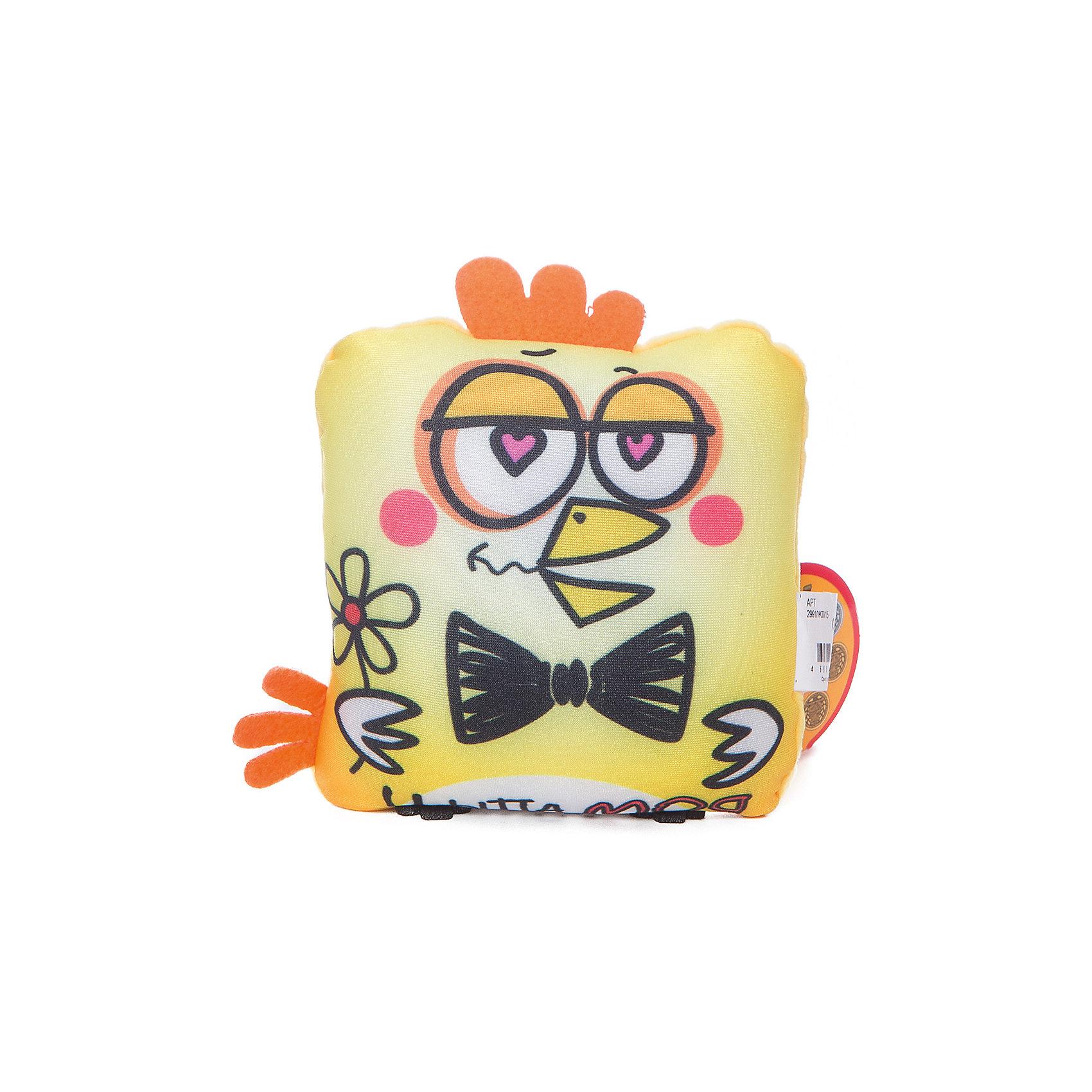 Подушка Петух Мачо, СмолТойс, желтыйДетские предметы интерьера<br>Эта мягкая игрушка не может не вызывать улыбку! Думаете, что подарить на Новый год или другой праздник? Подарите этого мягкого петуха! Символ 2017 года выглядит очень симпатично. Такая игрушка понравится и детям и взрослым!<br>Игрушка приятная на ощупь. Внутри предмет заполнен мягким наполнителем. Петух может стать украшением интерьера, так как похож на подушку. Произведена игрушка из качественных и безопасных для здоровья детей материалов.<br><br>Дополнительная информация:<br><br>цвет: разноцветный;<br>материал: текстиль, синтепон;<br>высота: 15 см.<br><br>Подушку Петух Мачо можно купить в нашем магазине.<br><br>Ширина мм: 6<br>Глубина мм: 13<br>Высота мм: 13<br>Вес г: 30<br>Возраст от месяцев: 36<br>Возраст до месяцев: 1188<br>Пол: Унисекс<br>Возраст: Детский<br>SKU: 4996605