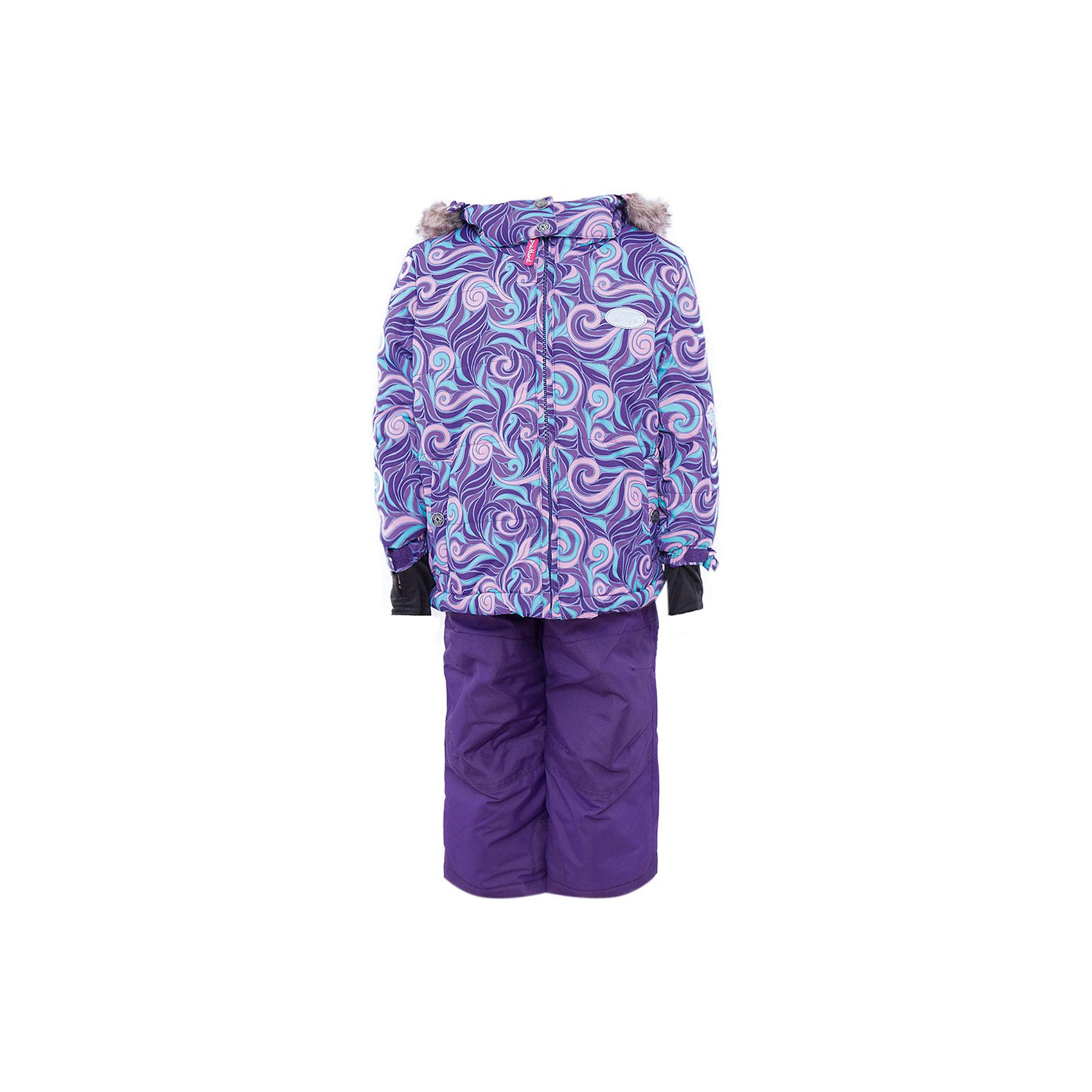 Комплект: куртка и брюки для девочки PremontКомплект: куртка и брюки для девочки от известного бренда Premont .<br>Ниагарский водопад по праву считается самым знаменитым и завораживающим водопадом в мире. Принт комбинезона «Загадка Ниагары» состоит из волнистых, переплетающихся между собой линий, словно струящиеся воды Ниагары слились воедино.<br>Состав:<br>Ткань верха: мембрана 5000мм/5000г/м2/24h, Taslan <br>Подклад: Polarfleece (тело, капюшон, манжеты), Taffeta (брюки, рукава, снежная юбка) Утеплитель: Tech-polyfill (куртка 280г, брюки 180г)<br><br>Ширина мм: 356<br>Глубина мм: 10<br>Высота мм: 245<br>Вес г: 519<br>Цвет: фиолетовый<br>Возраст от месяцев: 18<br>Возраст до месяцев: 24<br>Пол: Женский<br>Возраст: Детский<br>Размер: 92,164,152,140,128,122,120,116,110,104,100,98<br>SKU: 4996696