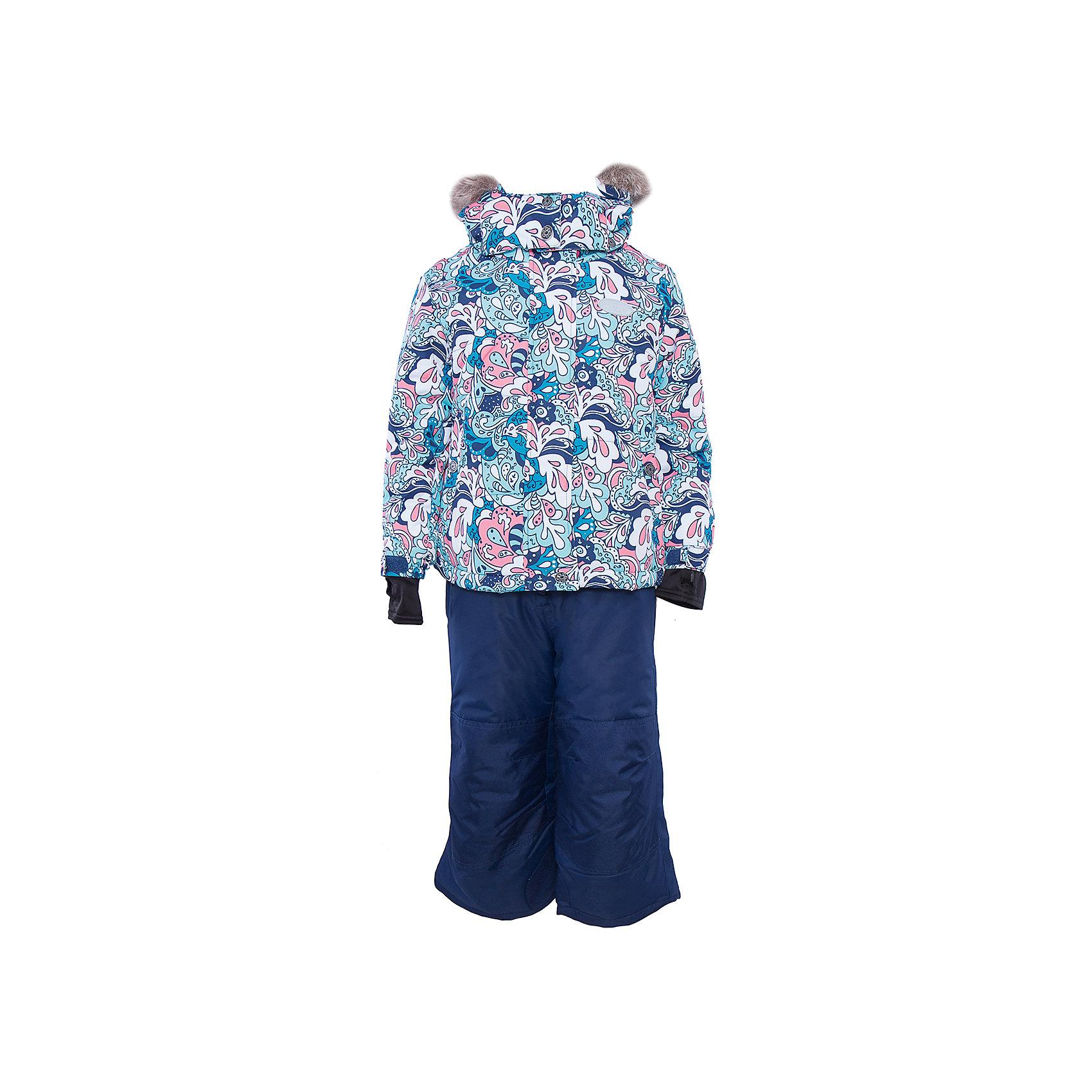 Комплект: куртка и брюки для девочки PremontКомплект: куртка и брюки для девочки от известного бренда Premont.<br>Один из самых популярных восточных орнаментов основан на базовом элементе в форме капли или «огурца» - носит название «Пейсли». Название это онполучил благодаря одноименному Шотландскому городку, где и сосредоточилось основное производство тканей. «Пейсли» ежегодно вдохновляет дизайнеров всего мира на создание новых орнаментов, и команда Premont – не исключение.<br>Состав:<br>Ткань верха: мембрана 5000мм/5000г/м2/24h, Taslan<br>Подклад: Polarfleece (тело, капюшон, манжеты), Taffeta (брюки, рукава, снежная юбка) Утеплитель: Tech-polyfill (куртка 280г, брюки 180г)<br><br>Ширина мм: 356<br>Глубина мм: 10<br>Высота мм: 245<br>Вес г: 519<br>Цвет: синий<br>Возраст от месяцев: 18<br>Возраст до месяцев: 24<br>Пол: Женский<br>Возраст: Детский<br>Размер: 98,100,104,110,116,120,122,128,140,152,92,164<br>SKU: 4996773