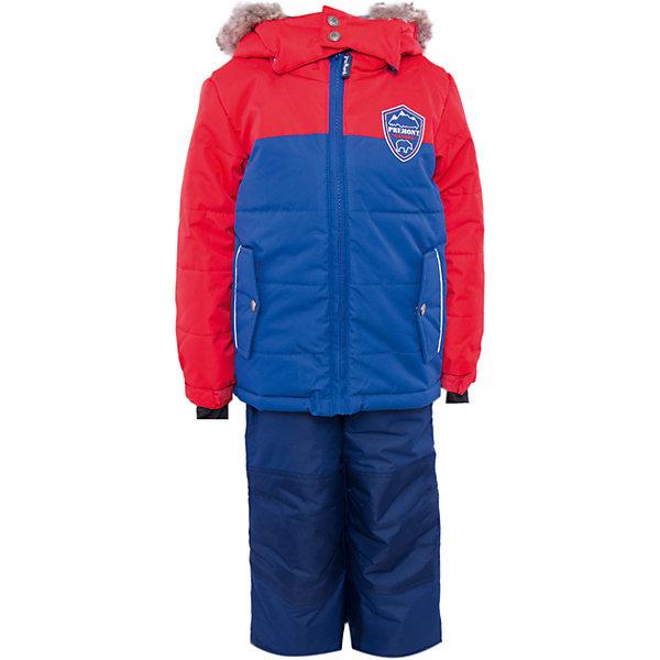 Комплект: куртка и брюки для мальчика PremontВерхняя одежда<br>Комплект: куртка и брюки для мальчика от известного бренда Premont.<br>Все канадцы с рождения являются ярыми фанатами хоккея и своей национальной сборной. Хоккей во всем мире бесспорно ассоциируется с Канадой. Дизайнеры компании Premont, как истинные патриоты, не смогли обойти этот факт стороной и назвали в честь него данную модель.<br>Брюки до 6 лет идут с высокой грудкой, после 6 лет - с отстегивающейся спинкой.<br>Состав:<br>Ткань верха: мембрана 5000мм/5000г/м2/24h, Taslan<br>Подклад: Polarfleece (тело, капюшон, манжеты), Taffeta (брюки, рукава, снежная юбка) Утеплитель: Tech-polyfill (куртка 280г, брюки 180г)<br><br>Ширина мм: 356<br>Глубина мм: 10<br>Высота мм: 245<br>Вес г: 519<br>Цвет: красный<br>Возраст от месяцев: 24<br>Возраст до месяцев: 36<br>Пол: Мужской<br>Возраст: Детский<br>Размер: 98,92,164,152,140,128,122,120,116,110,104,100<br>SKU: 4996792