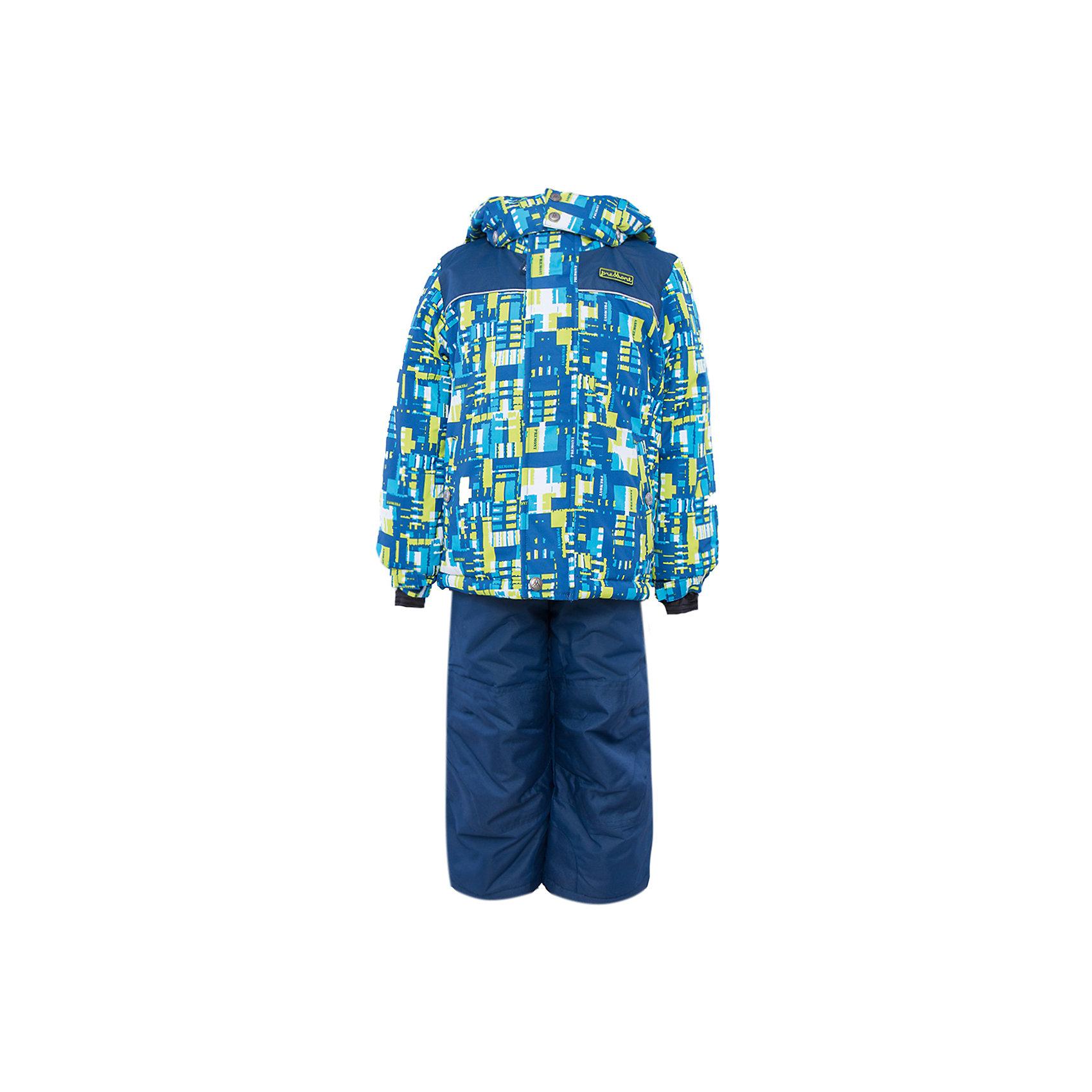 Комплект: куртка и брюки для мальчика PremontКомплект: куртка и брюки для мальчика от известного бренда Premont.<br>Лонглит – самый длинный лабиринт в мире, прогулка по его дорожкам – не только удовольствие, но и непростая головоломка, проверка сообразительности. Данный принт, непременно заставит ребенка включить свое воображение и фантазию.<br>Брюки до 6 лет идут с высокой грудкой, после 6 лет - с отстегивающейся спинкой.<br>Состав:<br>Ткань верха: мембрана 5000мм/5000г/м2/24h, Taslan<br>Подклад: Polarfleece (тело, капюшон, манжеты), Taffeta (брюки, рукава, снежная юбка) Утеплитель: Tech-polyfill (куртка 280г, брюки 180г)<br><br>Ширина мм: 356<br>Глубина мм: 10<br>Высота мм: 245<br>Вес г: 519<br>Цвет: синий<br>Возраст от месяцев: 18<br>Возраст до месяцев: 24<br>Пол: Мужской<br>Возраст: Детский<br>Размер: 92,164,140,128,122,120,116,110,104,100,98<br>SKU: 4996818