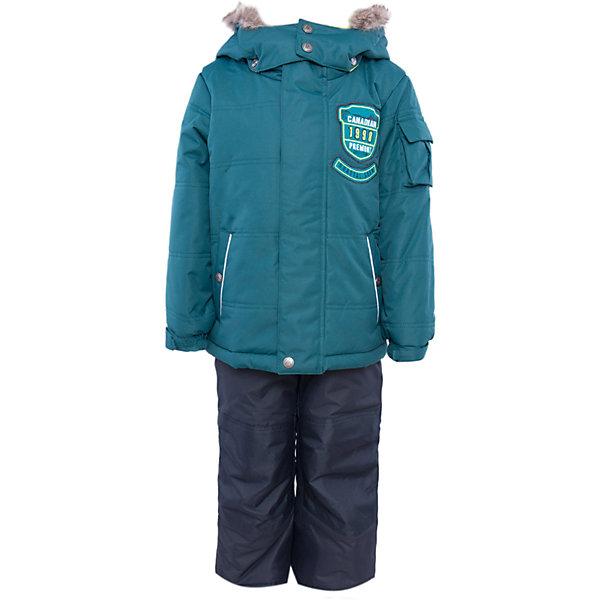 Комплект: куртка и брюки для мальчика PremontВерхняя одежда<br>Комплект: куртка и брюки для мальчика от известного бренда Premont.<br>Авалон считается мифическим островом, но, тем не менее, он действительно существует и располагается на Юго-Востоке Канады. Глубокий и насыщенный цвет парки, как будто переносит нас к извилистым берегам полуострова, изобилующего заливами и гаванями.<br>Брюки до 6 лет идут с высокой грудкой, после 6 лет - с отстегивающейся спинкой.<br>Состав:<br>Ткань верха: мембрана 5000мм/5000г/м2/24h, Taslan <br>Подклад: Polarfleece (тело, капюшон, манжеты), Taffeta (брюки, рукава, снежная юбка) Утеплитель: Tech-polyfill (куртка 280г, брюки 180г)<br><br>Ширина мм: 356<br>Глубина мм: 10<br>Высота мм: 245<br>Вес г: 519<br>Цвет: зеленый<br>Возраст от месяцев: 24<br>Возраст до месяцев: 36<br>Пол: Мужской<br>Возраст: Детский<br>Размер: 98,92,164,152,140,128,122,120,116,110,104,100<br>SKU: 4996830