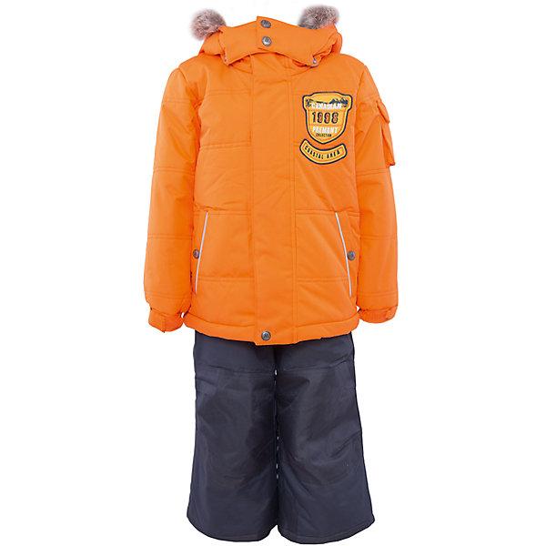Комплект: куртка и брюки для мальчика PremontВерхняя одежда<br>Комплект: куртка и брюки для мальчика от известного бренда Premont.<br>Авалон считается мифическим островом, но, тем не менее, он действительно существует и располагается на Юго-Востоке Канады. Глубокий и насыщенный цвет парки, как будто переносит нас к извилистым берегам полуострова, изобилующего заливами и гаванями.<br>Брюки до 6 лет идут с высокой грудкой, после 6 лет - с отстегивающейся спинкой.<br>Состав:<br>Ткань верха: мембрана 5000мм/5000г/м2/24h, Taslan <br>Подклад: Polarfleece (тело, капюшон, манжеты), Taffeta (брюки, рукава, снежная юбка) Утеплитель: Tech-polyfill (куртка 280г, брюки 180г)<br>Ширина мм: 356; Глубина мм: 10; Высота мм: 245; Вес г: 519; Цвет: оранжевый; Возраст от месяцев: 84; Возраст до месяцев: 96; Пол: Мужской; Возраст: Детский; Размер: 128,164,98,92,100,104,110,116,120,122,140,152; SKU: 4996843;