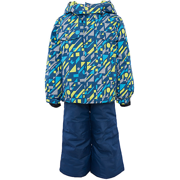 Комплект: куртка и брюки для мальчика PremontВерхняя одежда<br>Комплект: куртка и брюки для мальчика от известного бренда Premont.<br>Как известно, немцы во всем предпочитают четкость и лаконичность, именно эти особенности учтены в принте «Немецкий стиль». Геометрические фигуры и абстрактные рисунки подойдут для серьезных и рассудительных детей, которые любят часами собирать конструктор, пирамидки, играть с кубиками.<br>Брюки до 6 лет идут с высокой грудкой, после 6 лет - с отстегивающейся спинкой.<br>Состав:<br>Ткань верха: мембрана 5000мм/5000г/м2/24h, Taslan<br>Подклад: Polarfleece (тело, капюшон, манжеты), Taffeta (брюки, рукава, снежная юбка) Утеплитель: Tech-polyfill (куртка 280г, брюки 180г)<br><br>Ширина мм: 356<br>Глубина мм: 10<br>Высота мм: 245<br>Вес г: 519<br>Цвет: синий<br>Возраст от месяцев: 24<br>Возраст до месяцев: 36<br>Пол: Мужской<br>Возраст: Детский<br>Размер: 98,92,128,122,120,116,110,104,100<br>SKU: 4996905